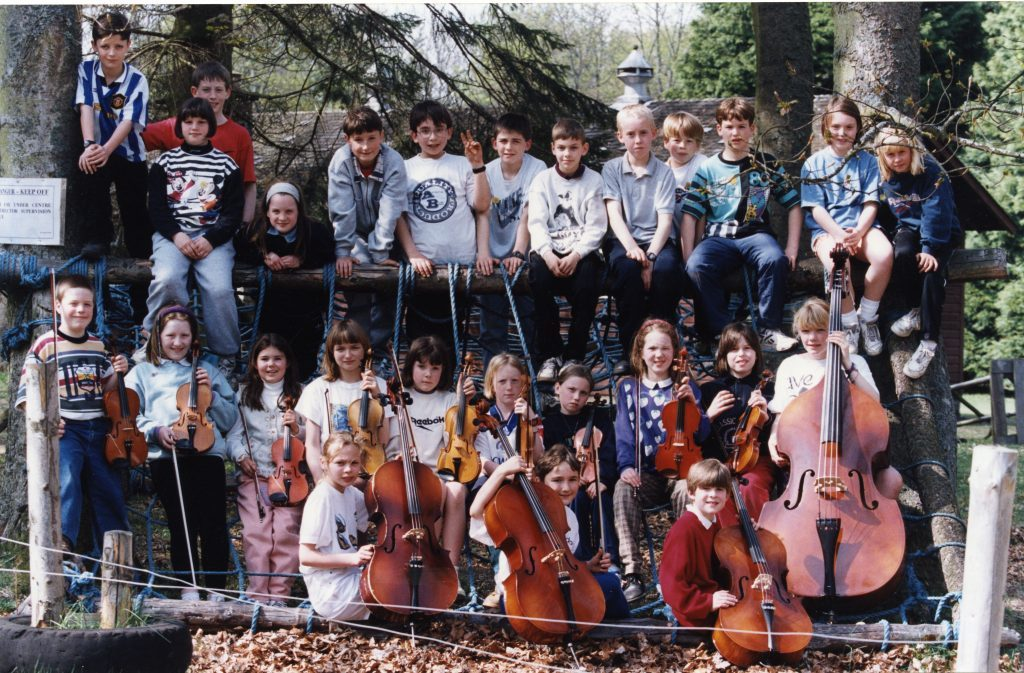 Schools Orchestra Camp at Belmont near Meigle.