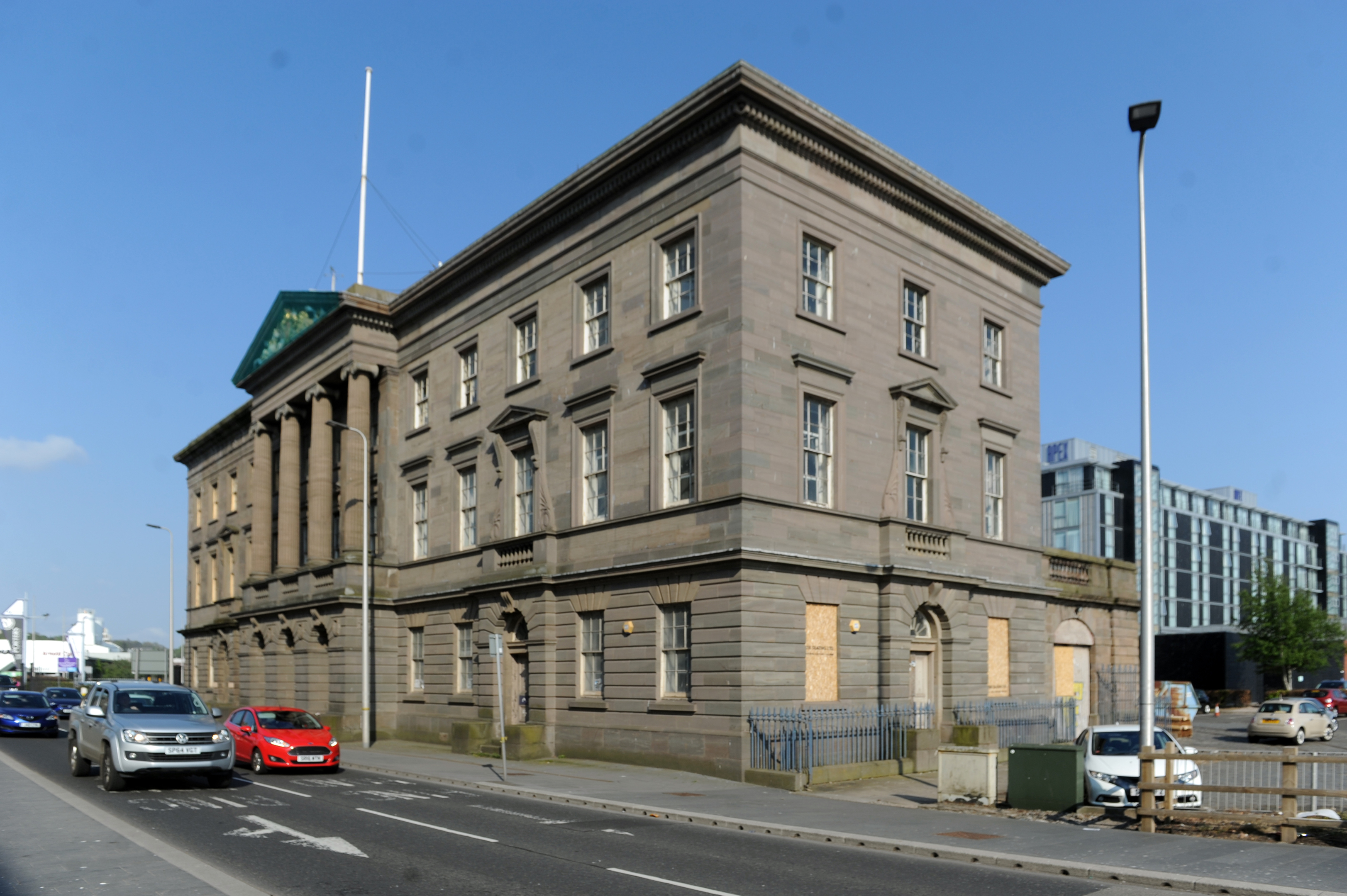 The Custom House in Dundee.