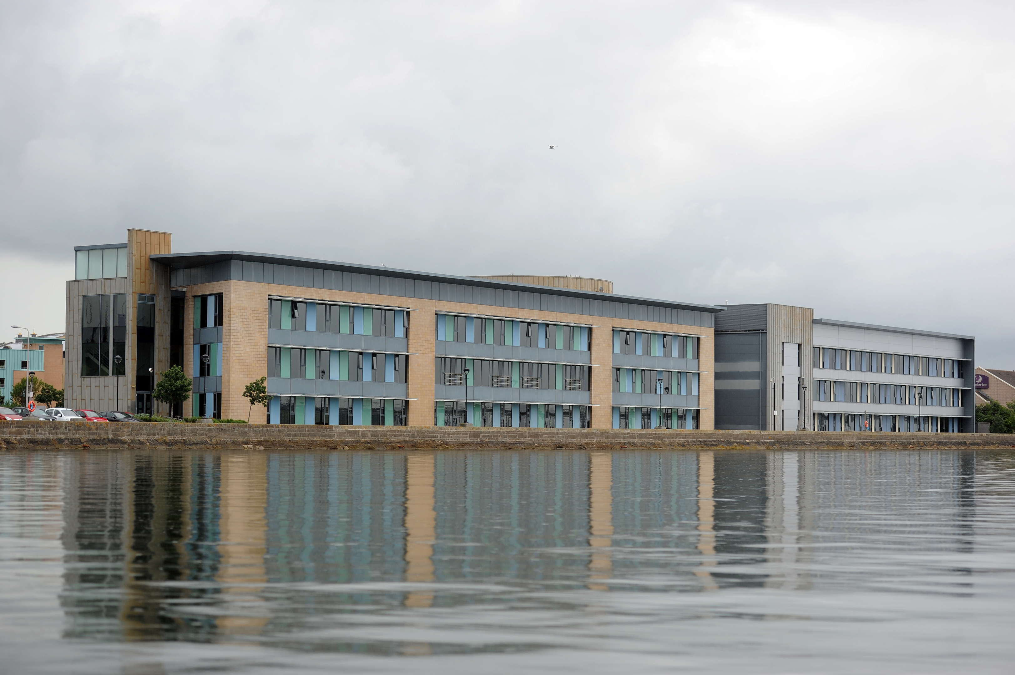 The Care Inspectorate offices in Dundee.