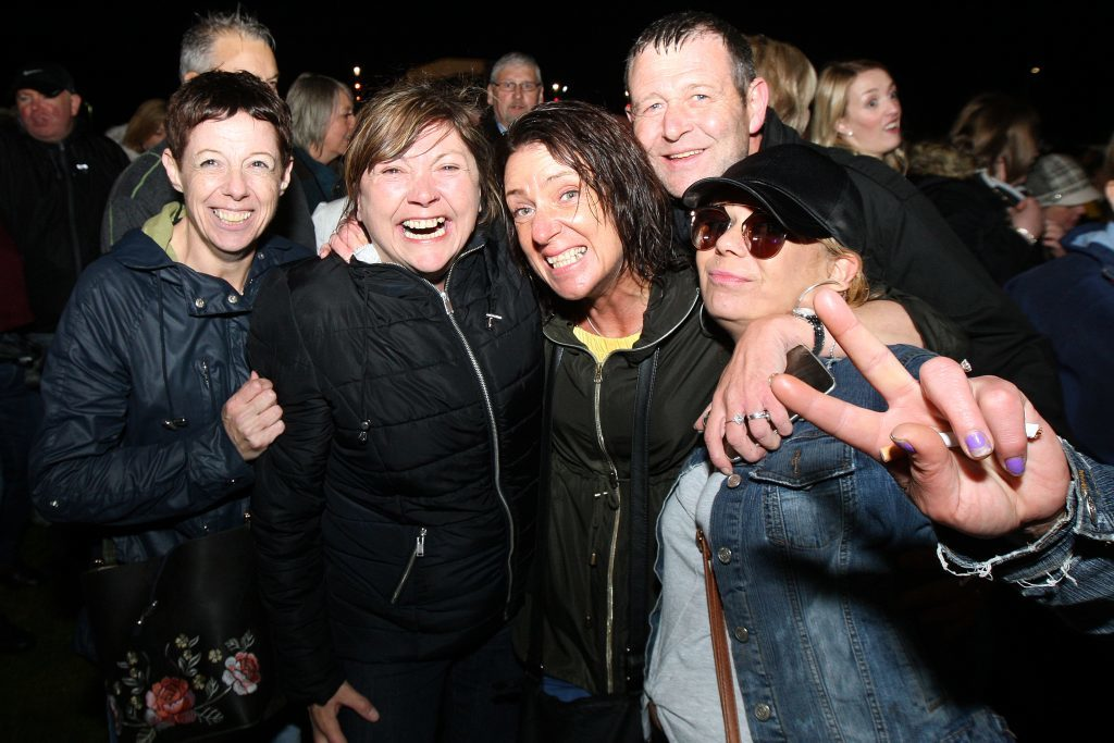 UB40 gig at Slessor Gardens in Dundee.