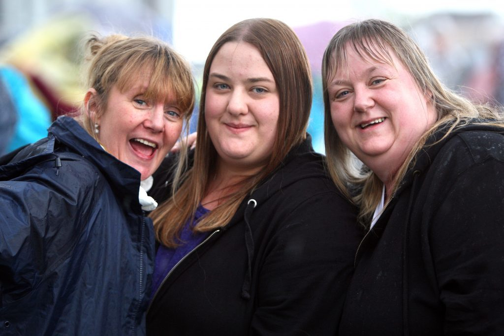 Trisha Hill, Stephani Carol and Angie Mitchell at UB40.