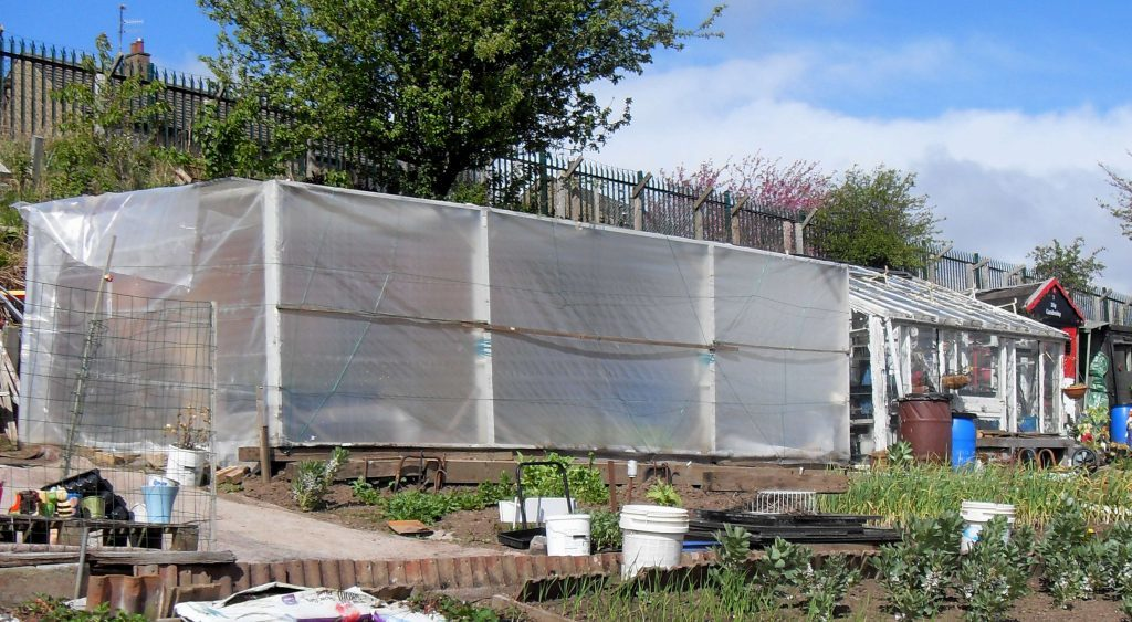 Large scale polythene protection
