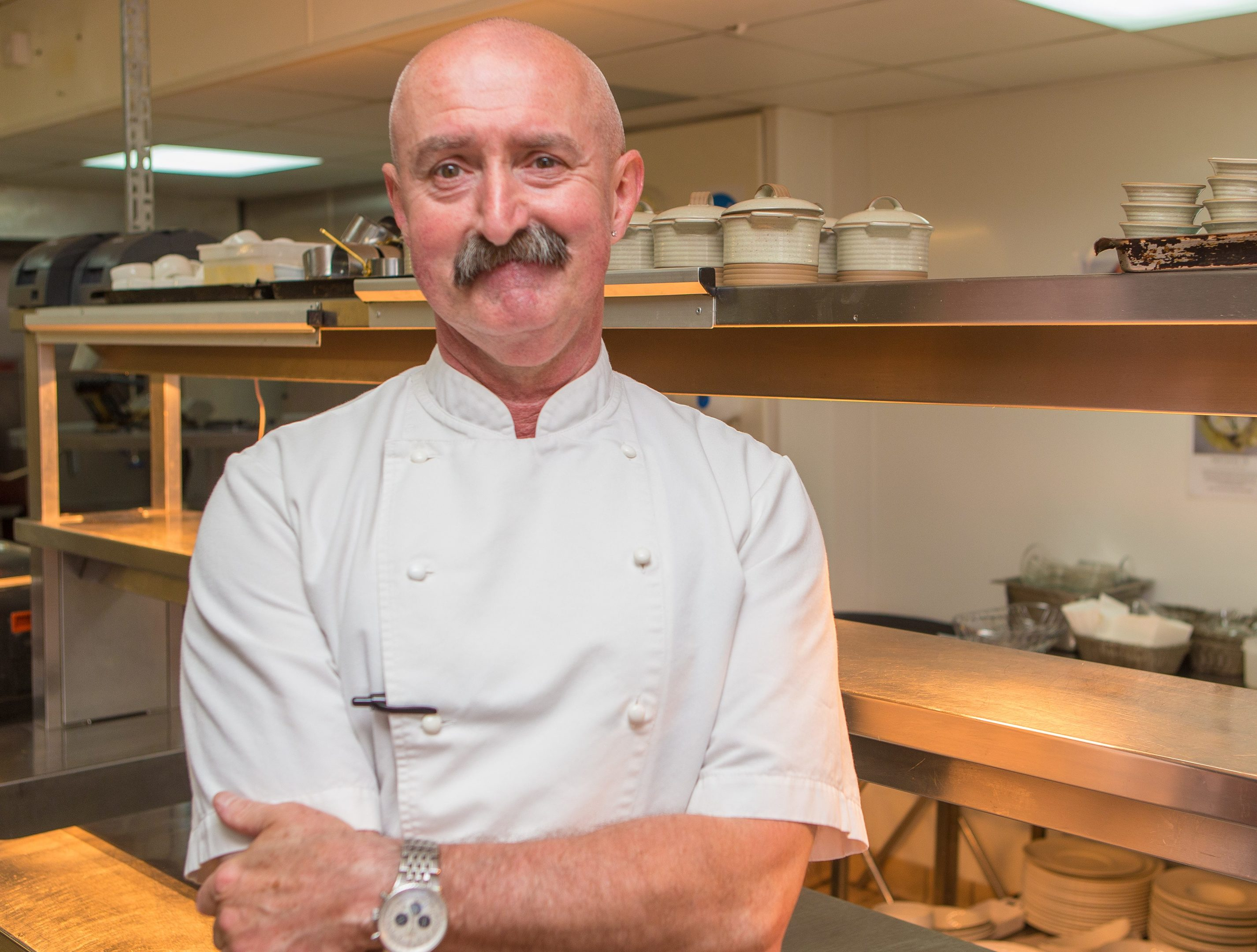 Tony Borthwick, executive chef at the Rusacks, St Andrews.