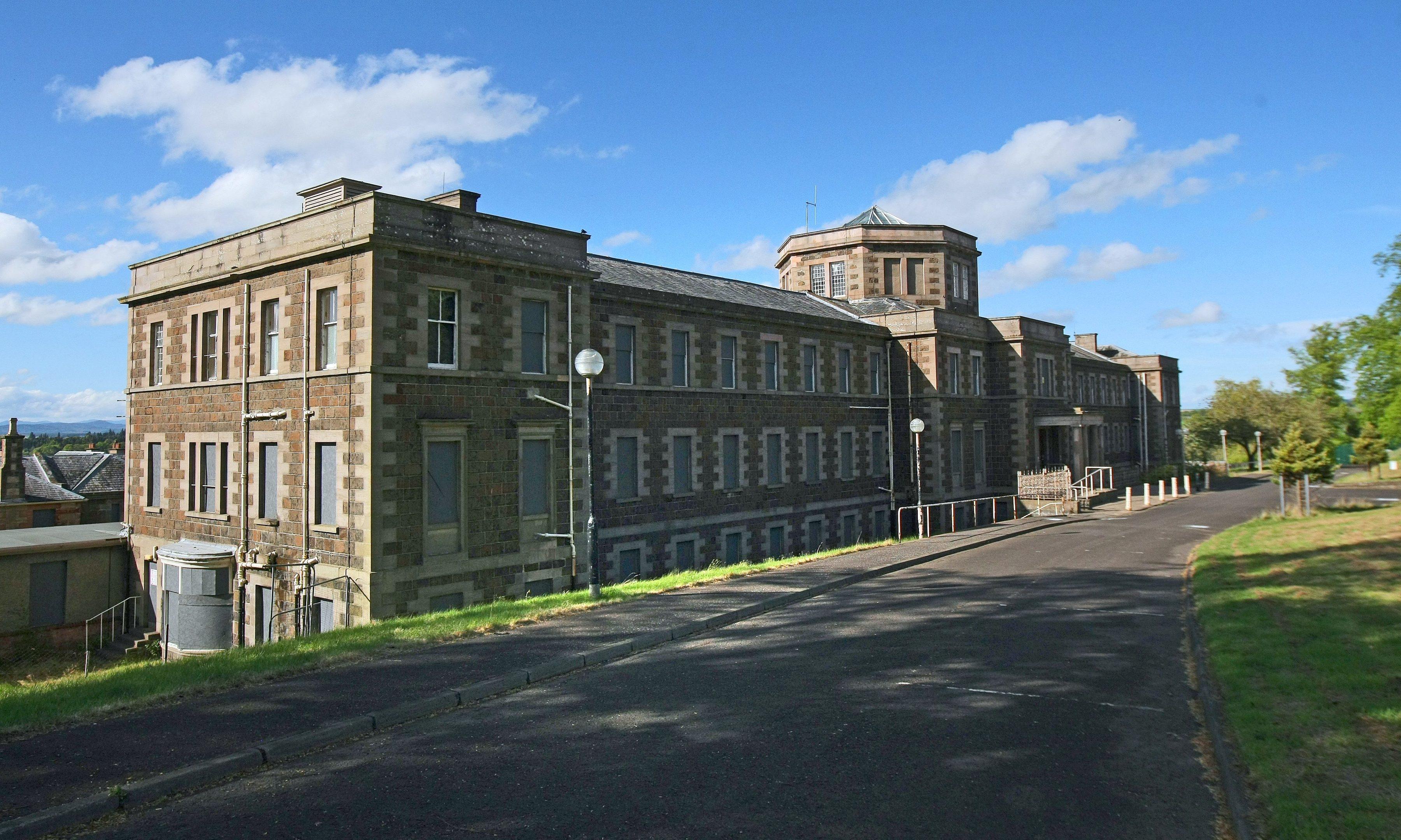 The old Murray Royal hospital.