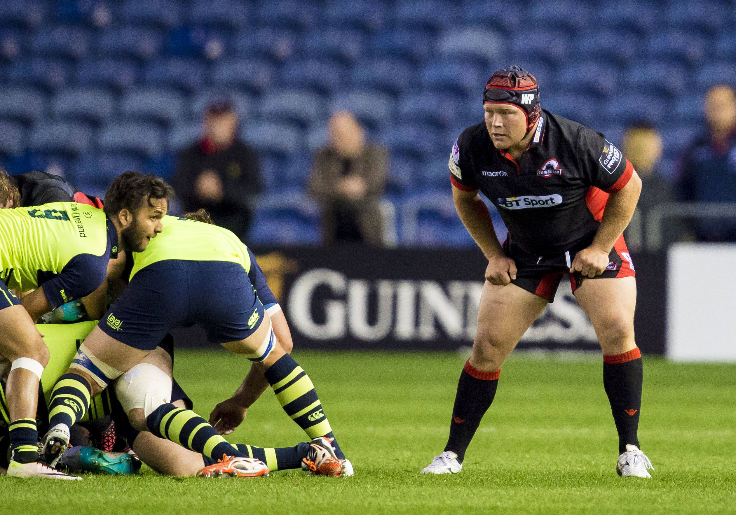 WP Nel played 100 times for Edinburgh while completing his three-year residency to play for Scotland.