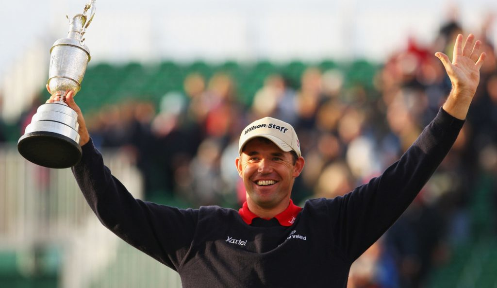 Padraig Harrington wins the 136th Open at Carnoustie in 2007