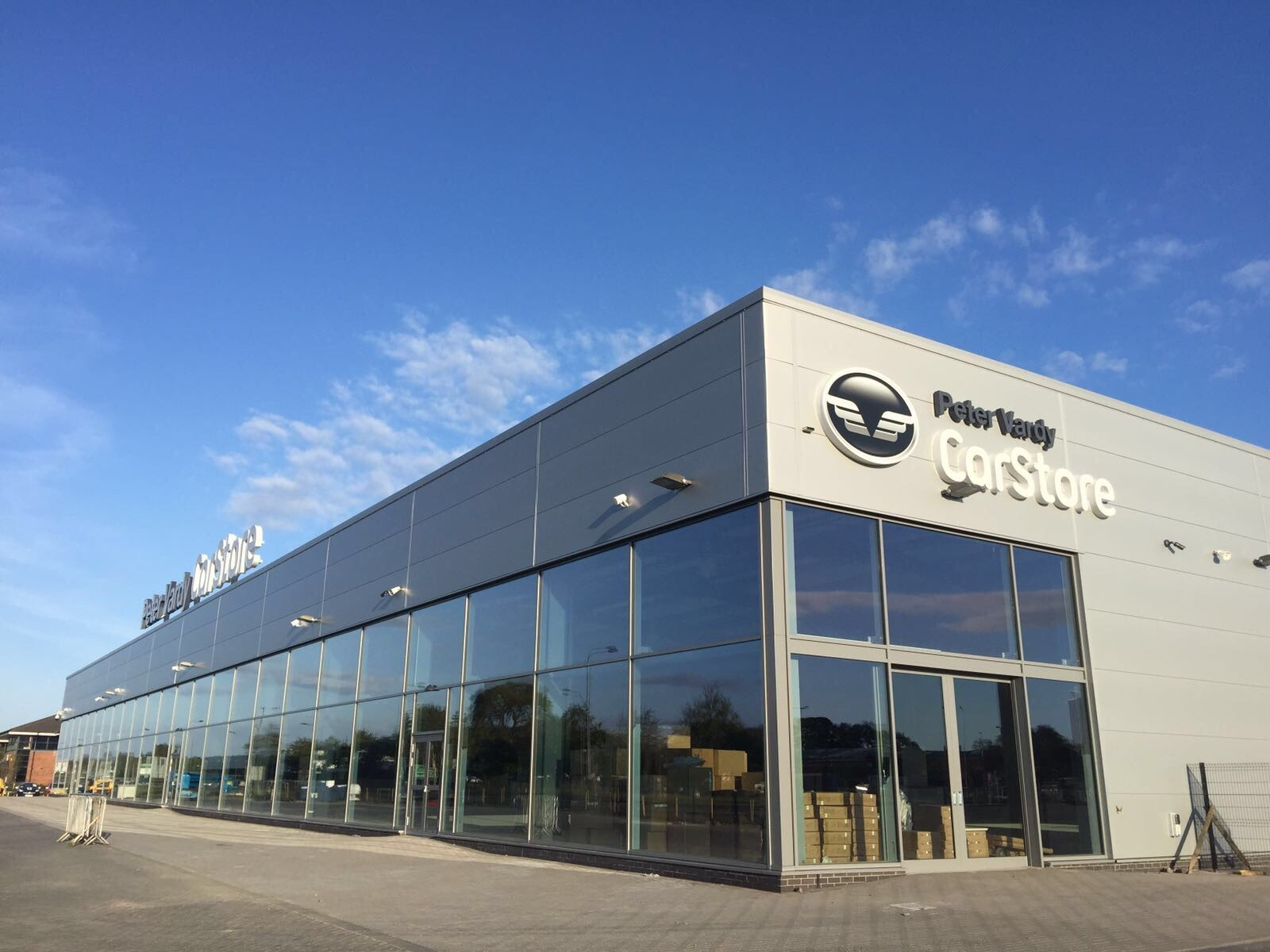 The new Peter Vadry CarStore that opens on Saturday.