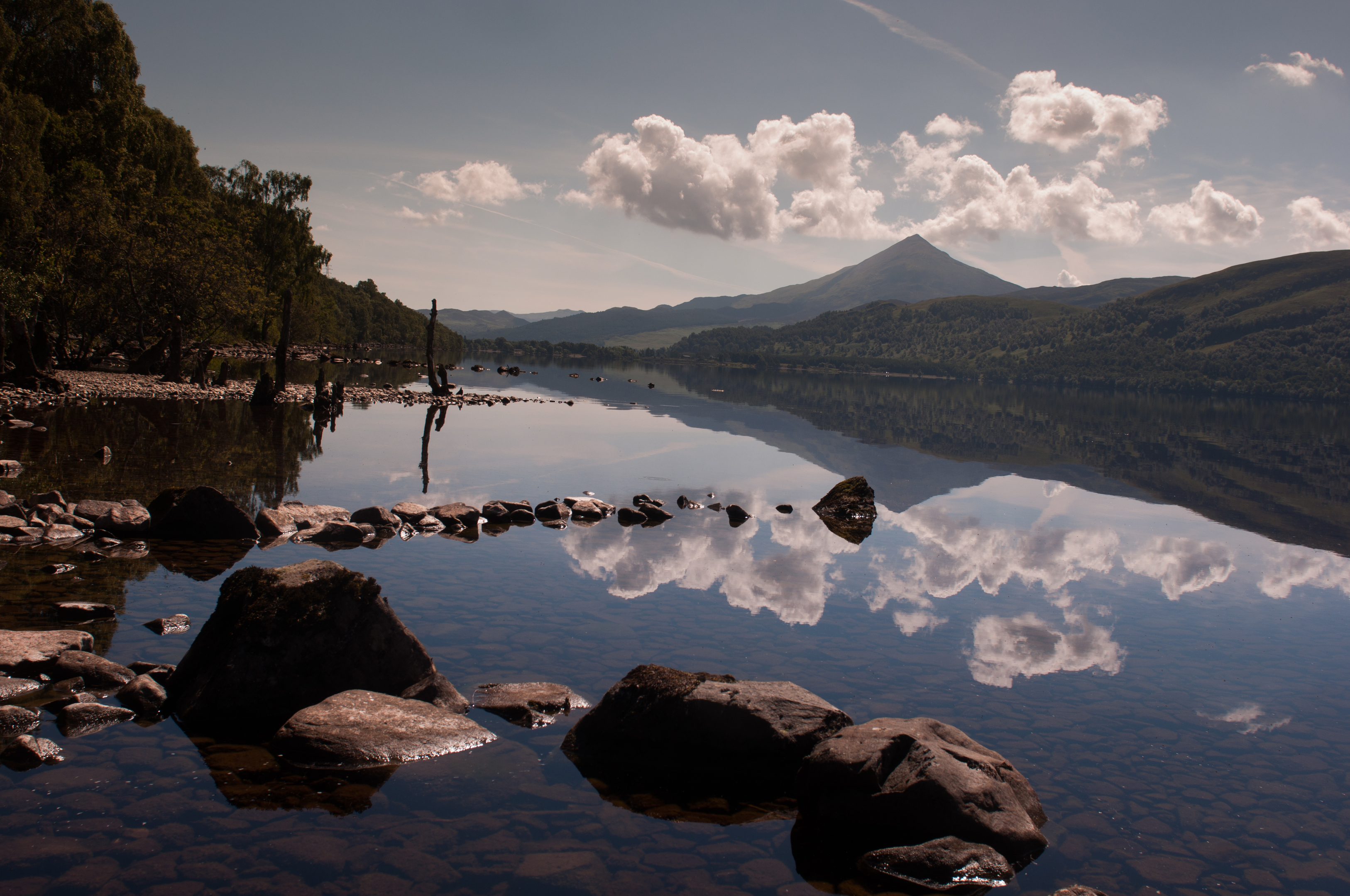 """Schehallion and Loch Rannoch, where people can """"get away from it all""""."""
