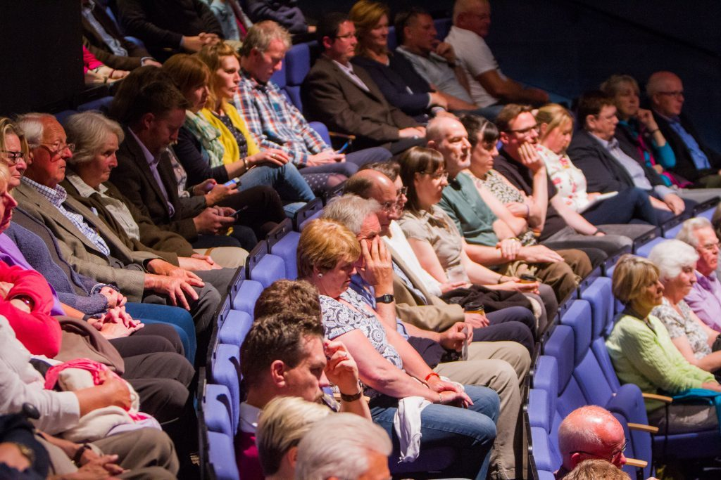The audience at the St Andrews debate.