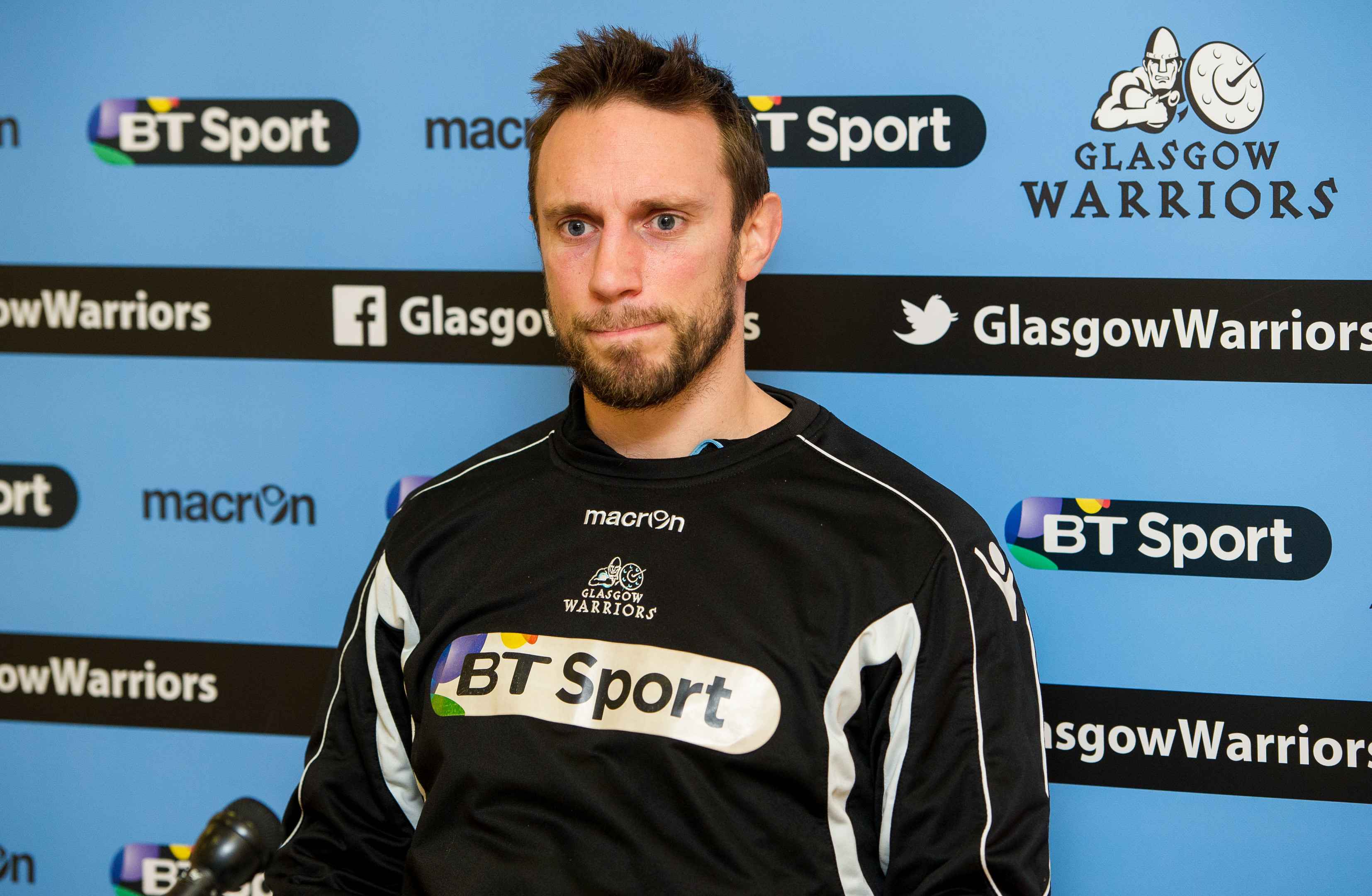Mike Blair joined the Glasgow Warriors coaching staff only last summer.