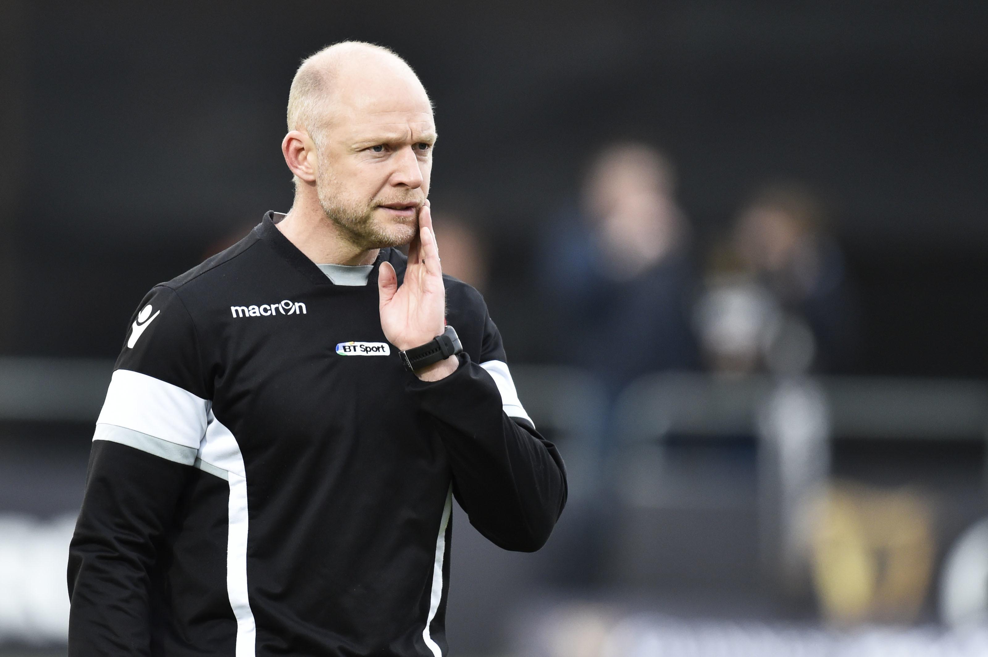 Edinburgh assistant coach Duncan Hodge.