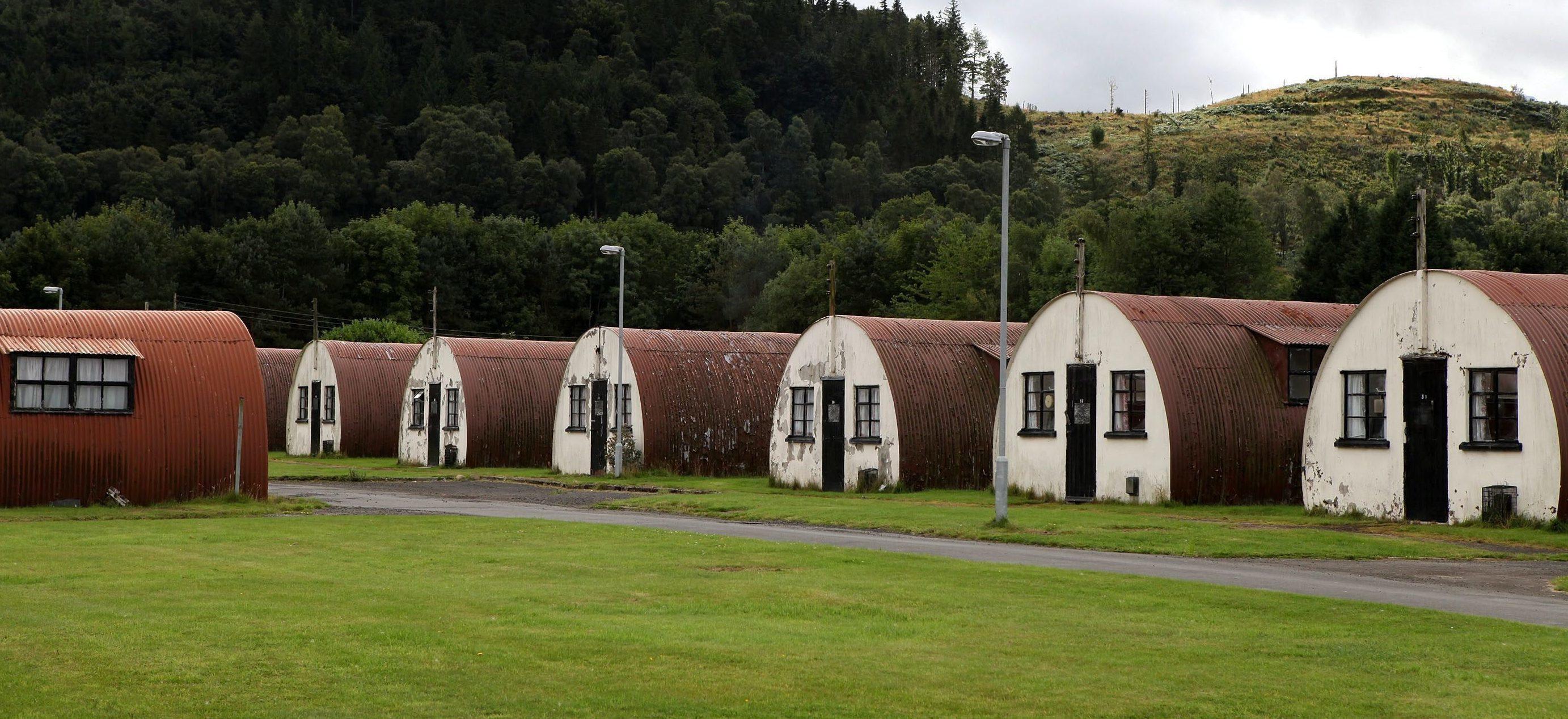 Cultybraggan Camp.