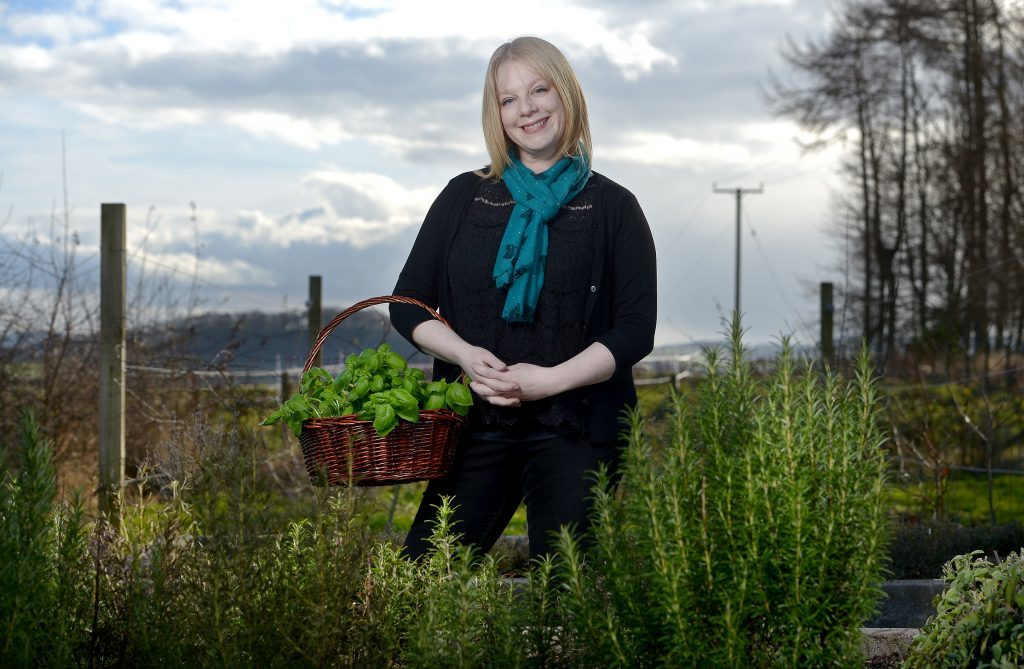Lindsey Anderson of The Little Herb Farm