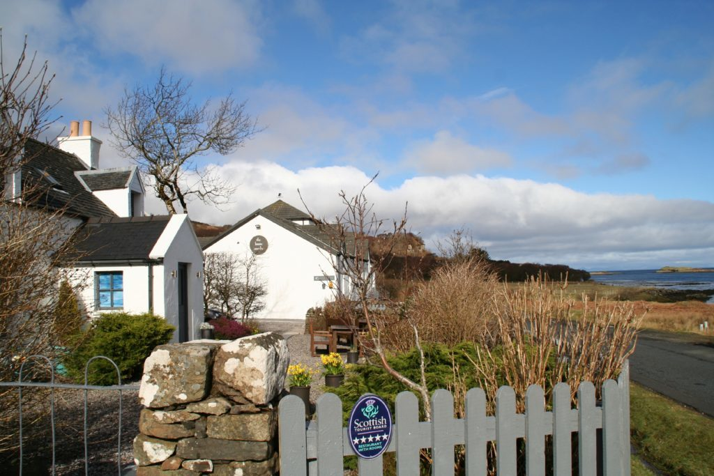 The legendary Three Chimneys on Skye.