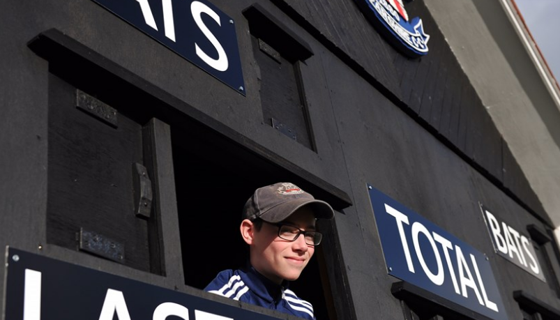 International cricket can return to Broughty Ferry thanks to Tom.
