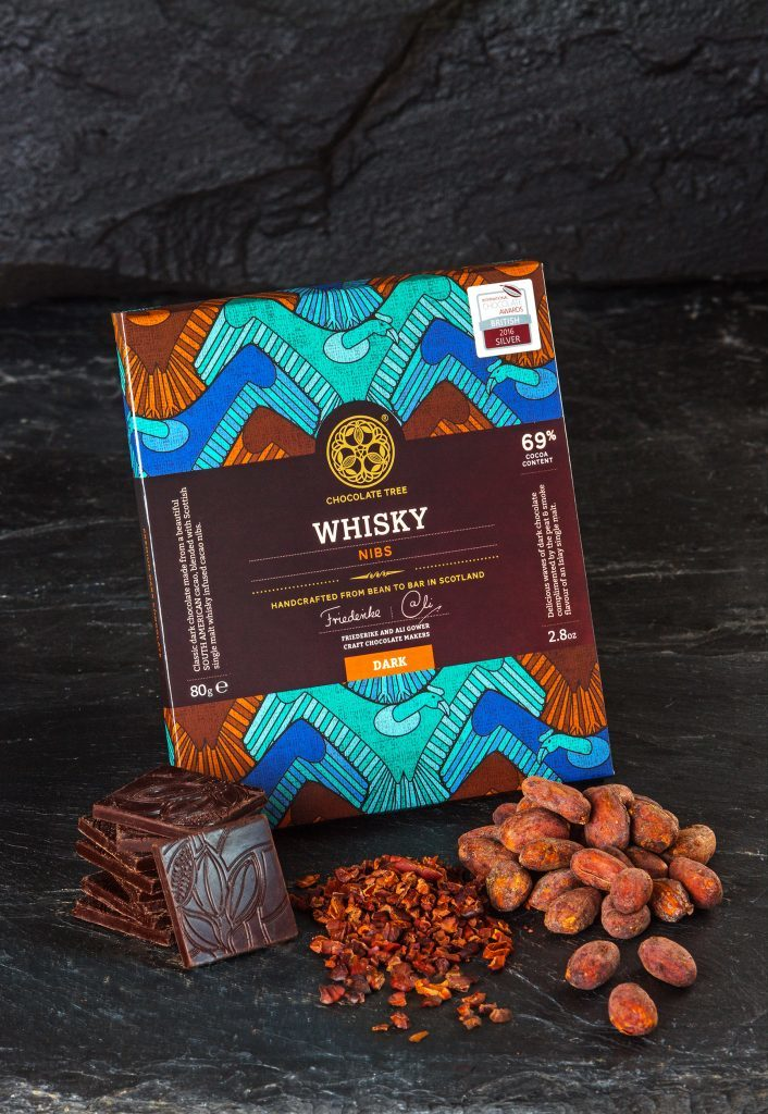 Whisky nibs
