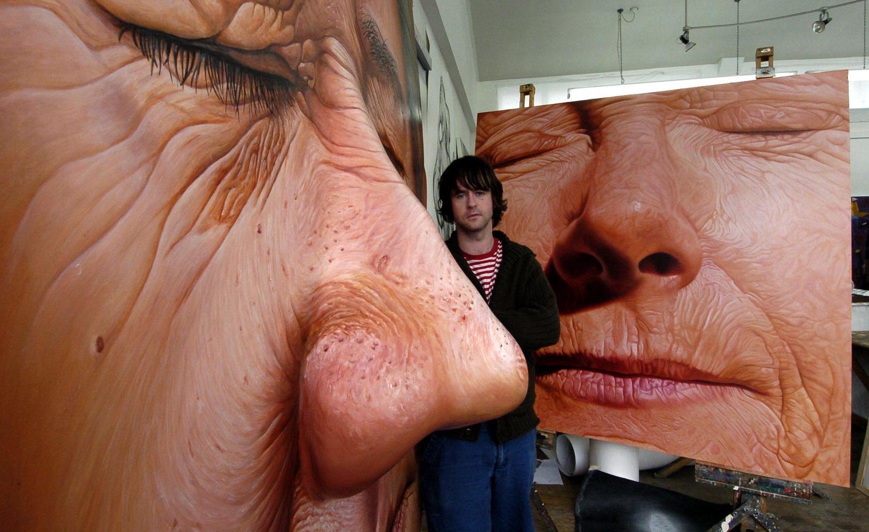 Simon Reekie at Duncan of Jordanstone College of Art in 2004