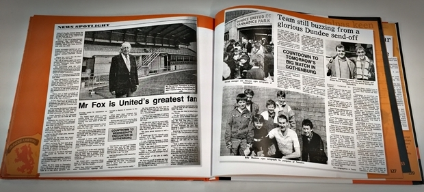 The book tells the story from the club's and the fans' side as the remarkable run to the final progressed.