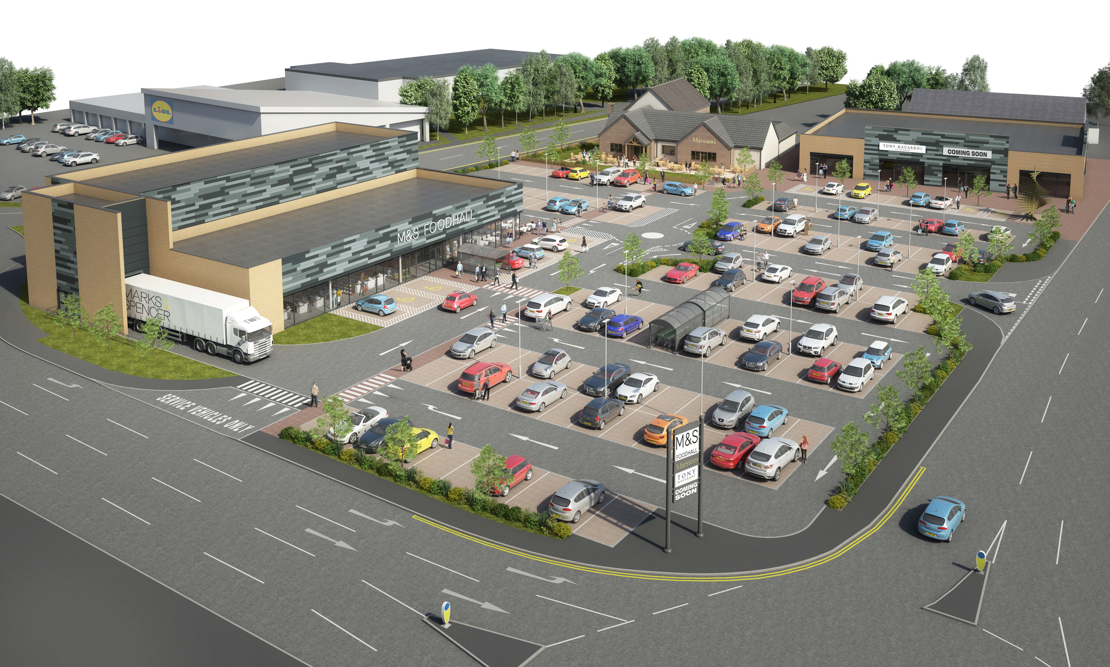 An artist's impression of how Glenrothes will look.