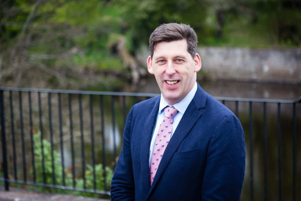 Ian Duncan, the Scottish Conservative candidate for Perth and North Perthshire