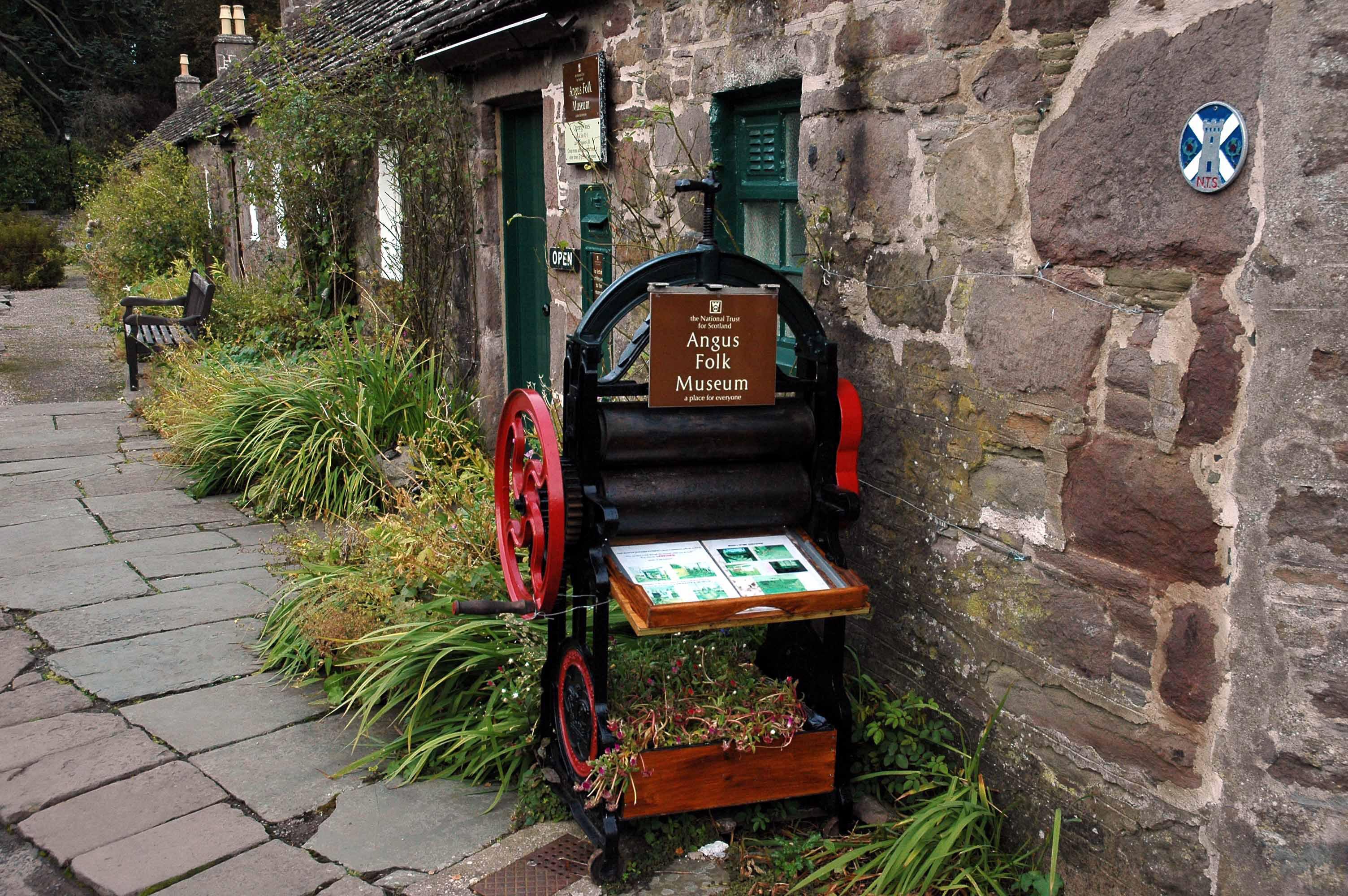 Angus Folk Museum.