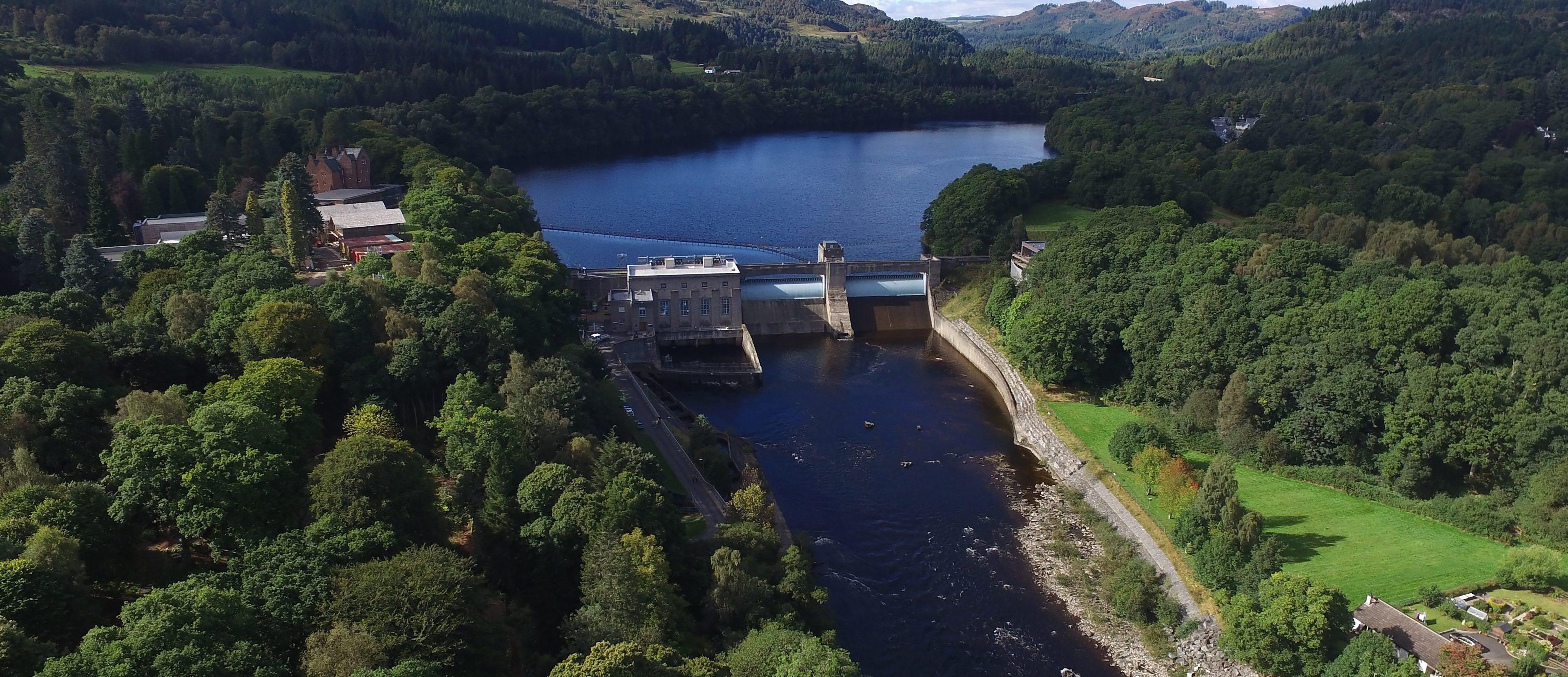 Pitlochry Dam.