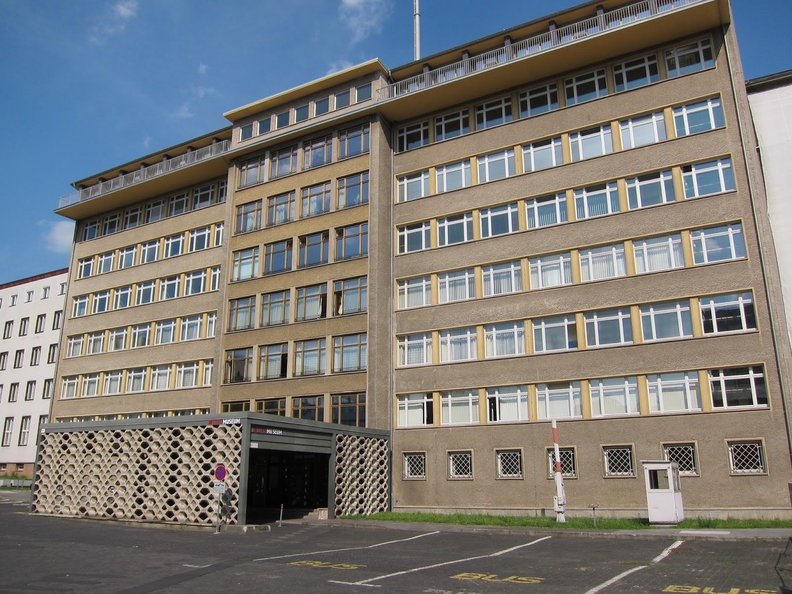 The former Stasi HQ in Berlin.