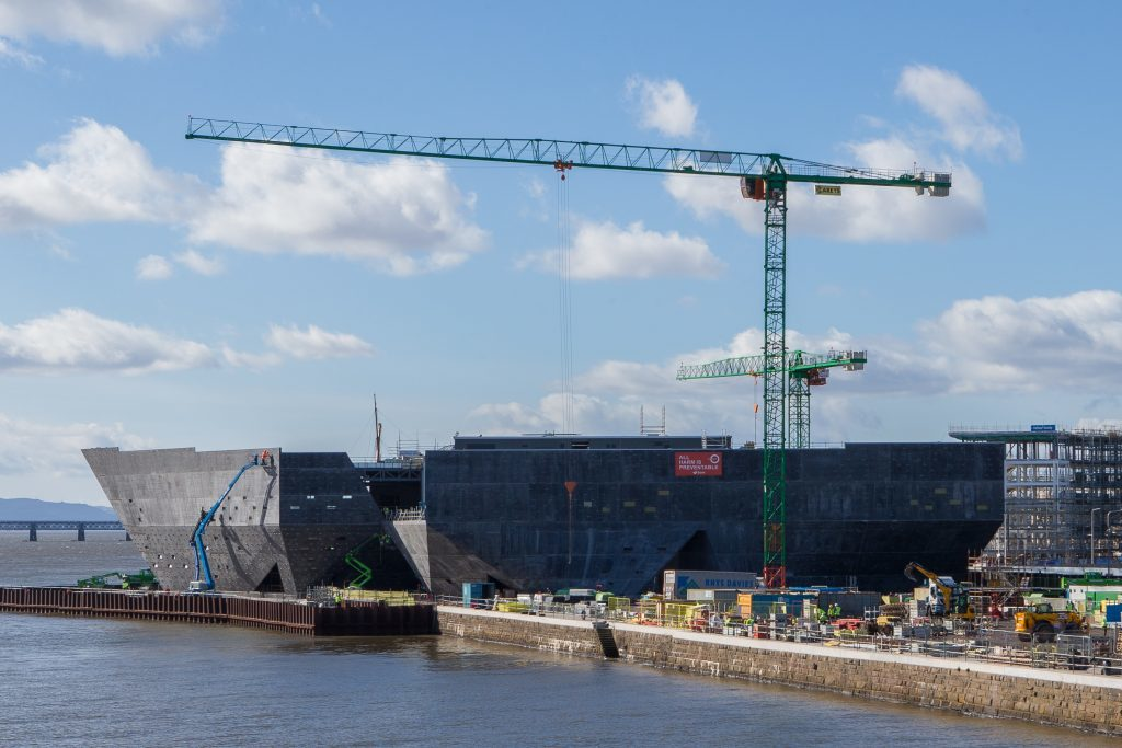 VA construction continues at Dundee Waterfront