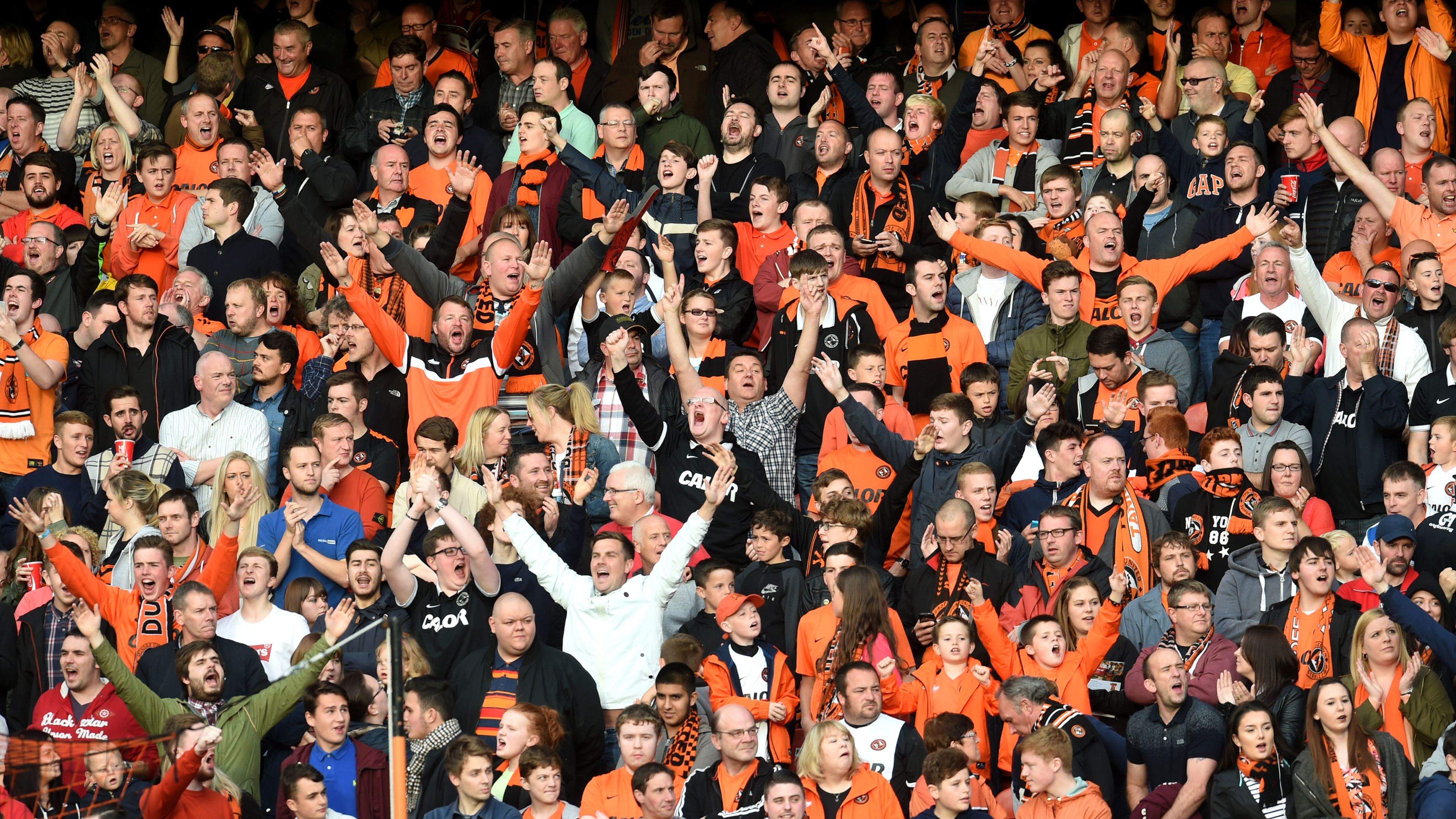 Tannadice will be packed tonight for the first leg showdown.