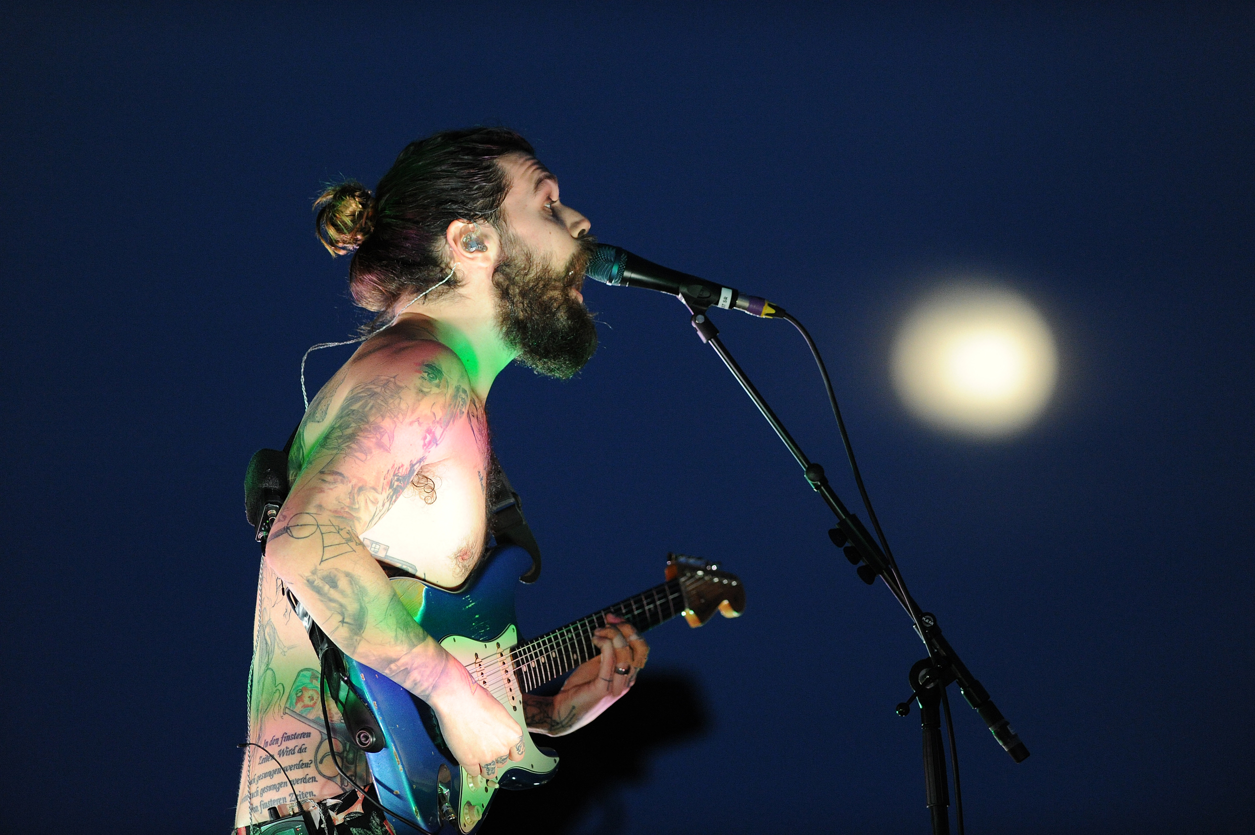 Biffy Clyro's Simon Neil.