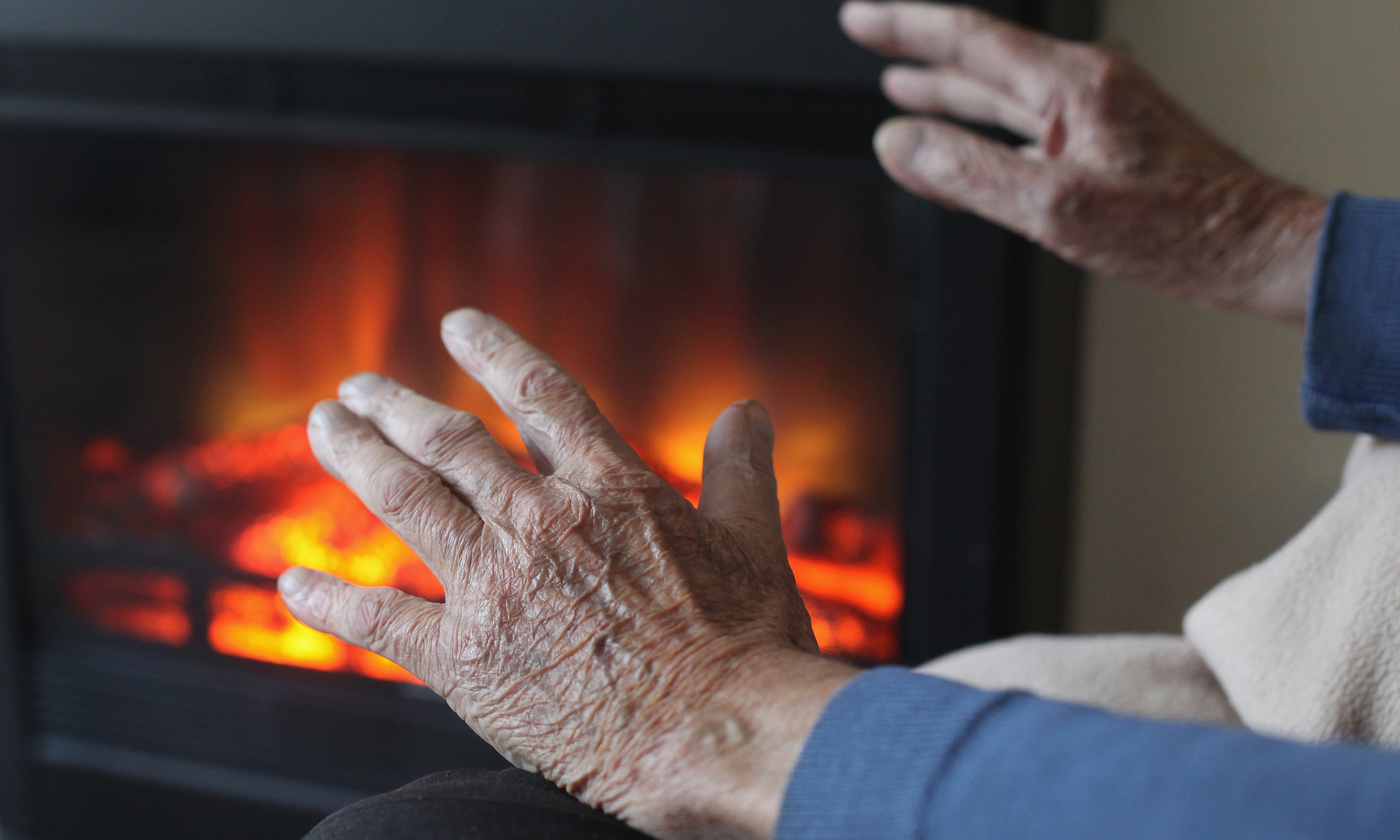 Many can face a straight choice between heating and eating