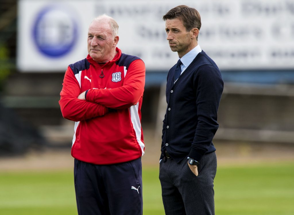 Gerry McCabe is currently on the coaching staff at Dens.