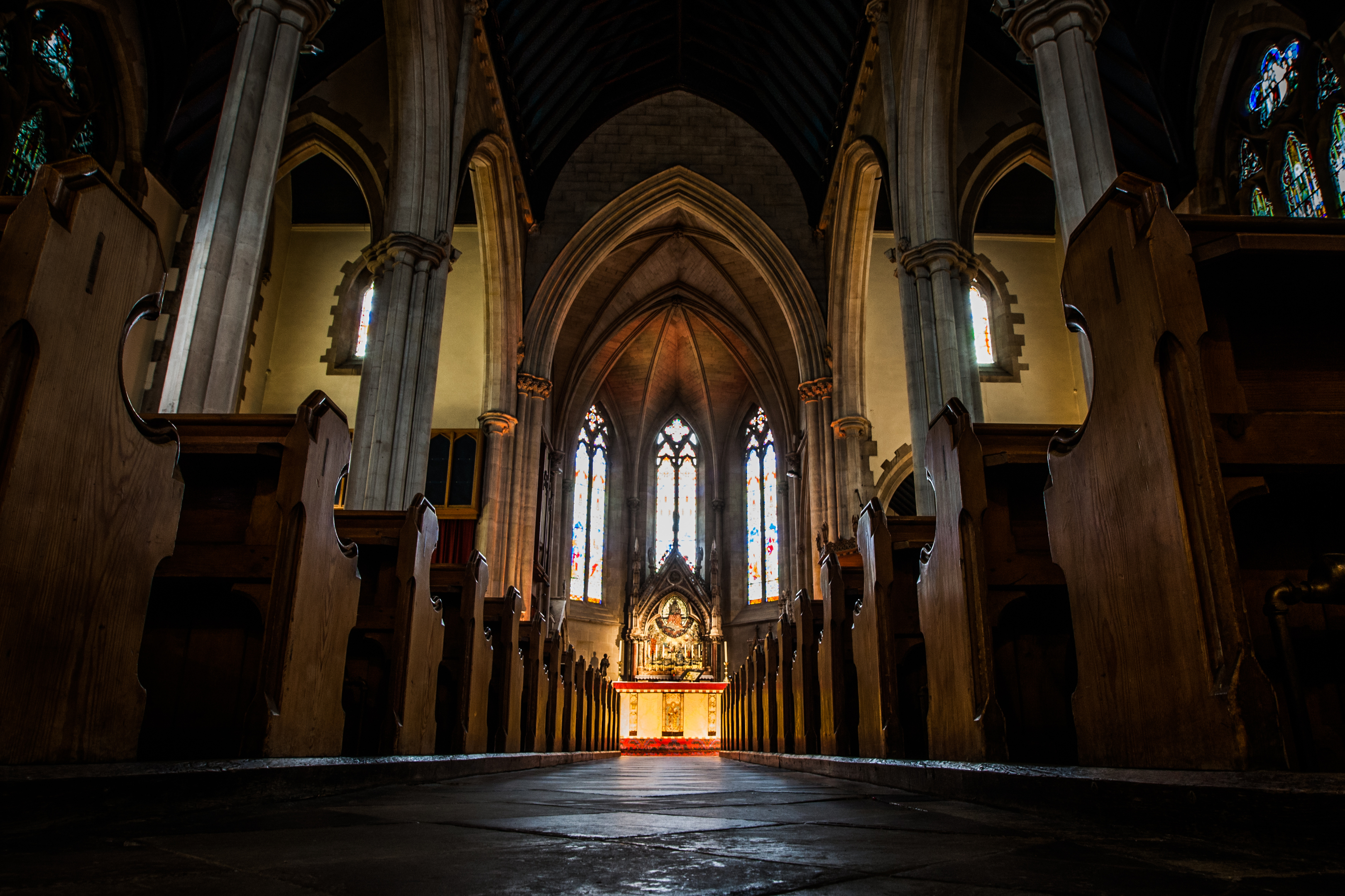 St Paul's Episcopal Cathedral in Dundee.