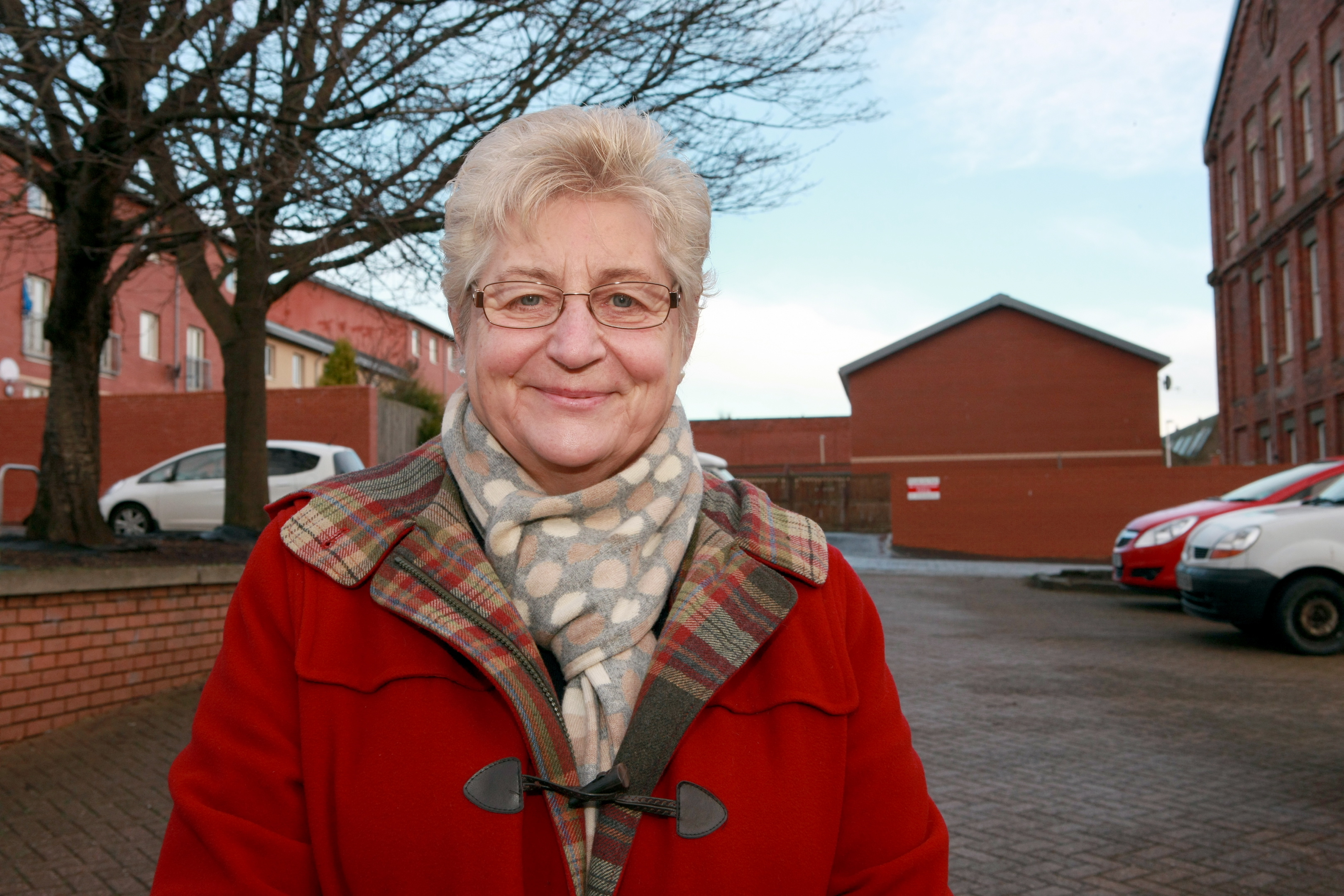Joyce McIntosh believes the proposed new building will be a boost for the whole area.