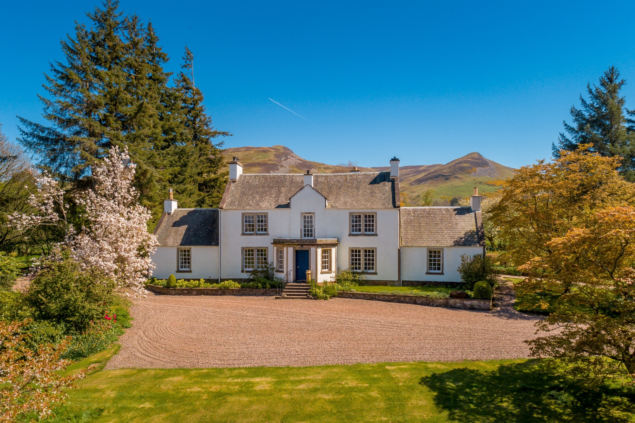 Coul House is being sold by CDK Galbraith.
