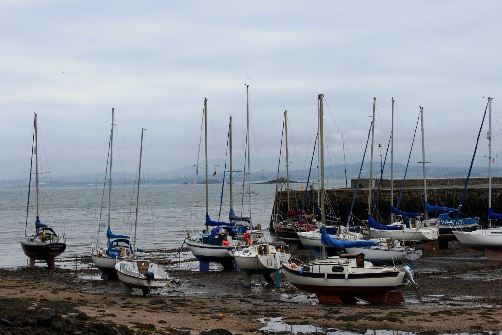 4 - Yachts in Aberdour harbour - James Carron, Take a Hike