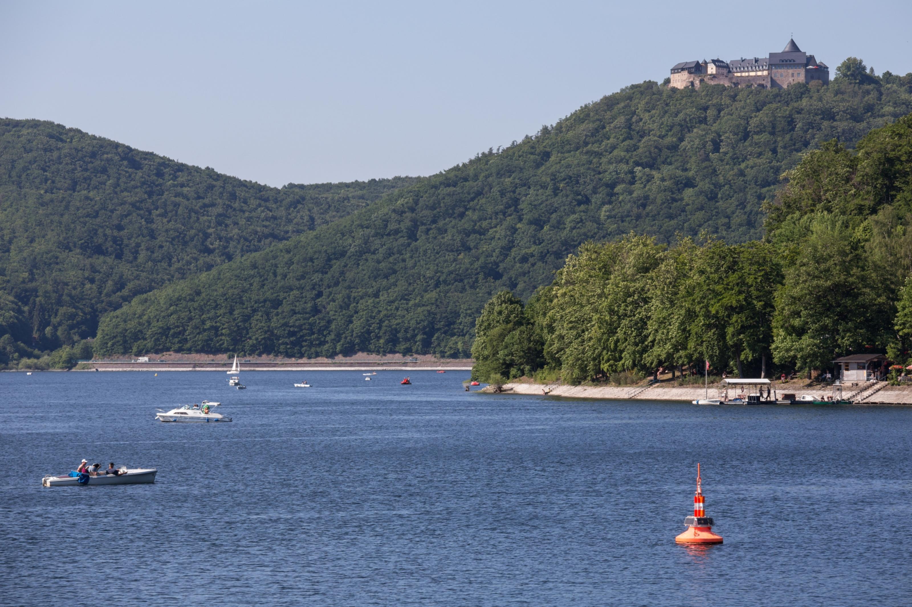 Edersee Lake in Germany.