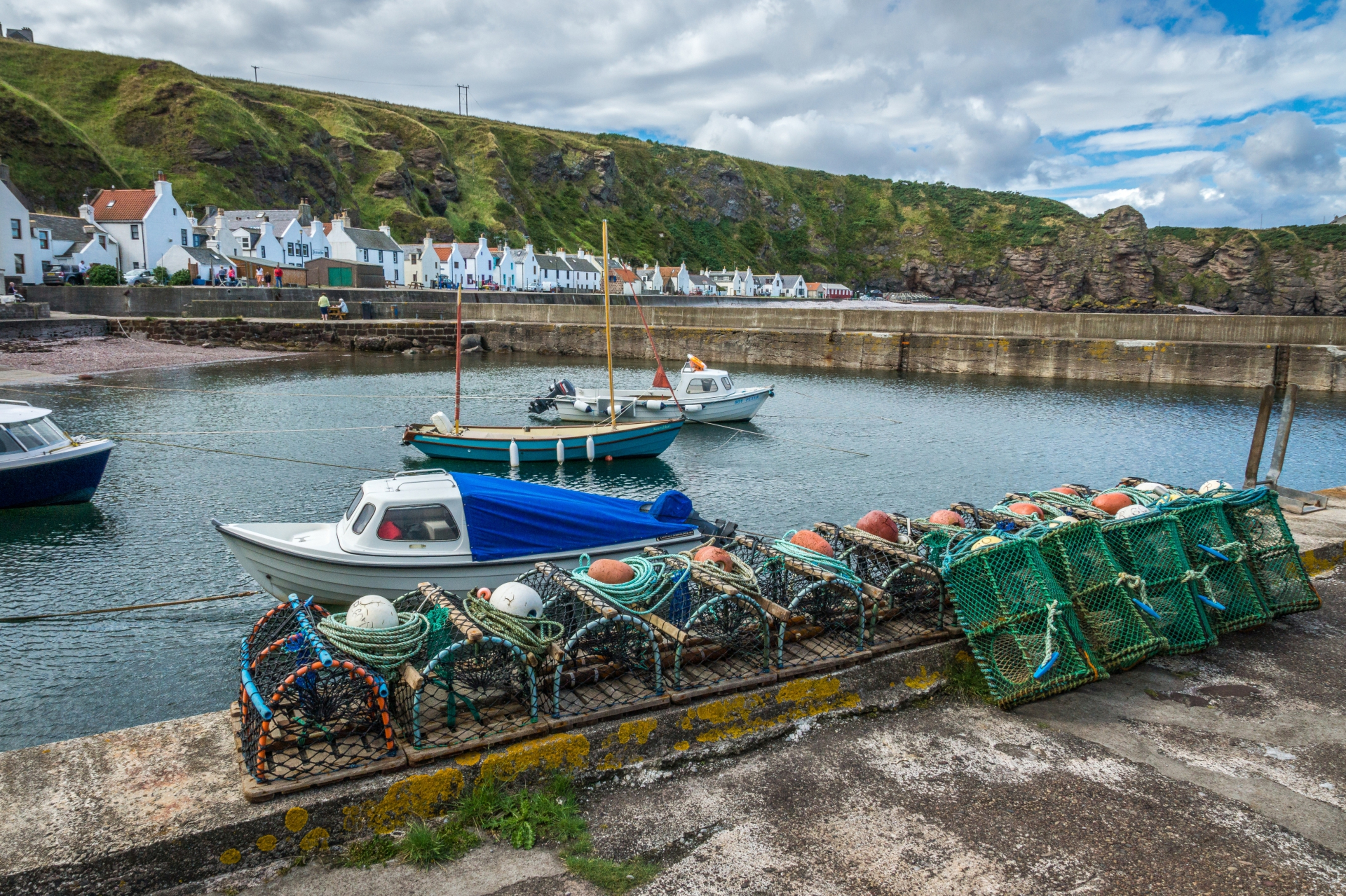 The picturesque fishing village of Pennan in Aberdeenshire features in a remake of Whisky Galore.