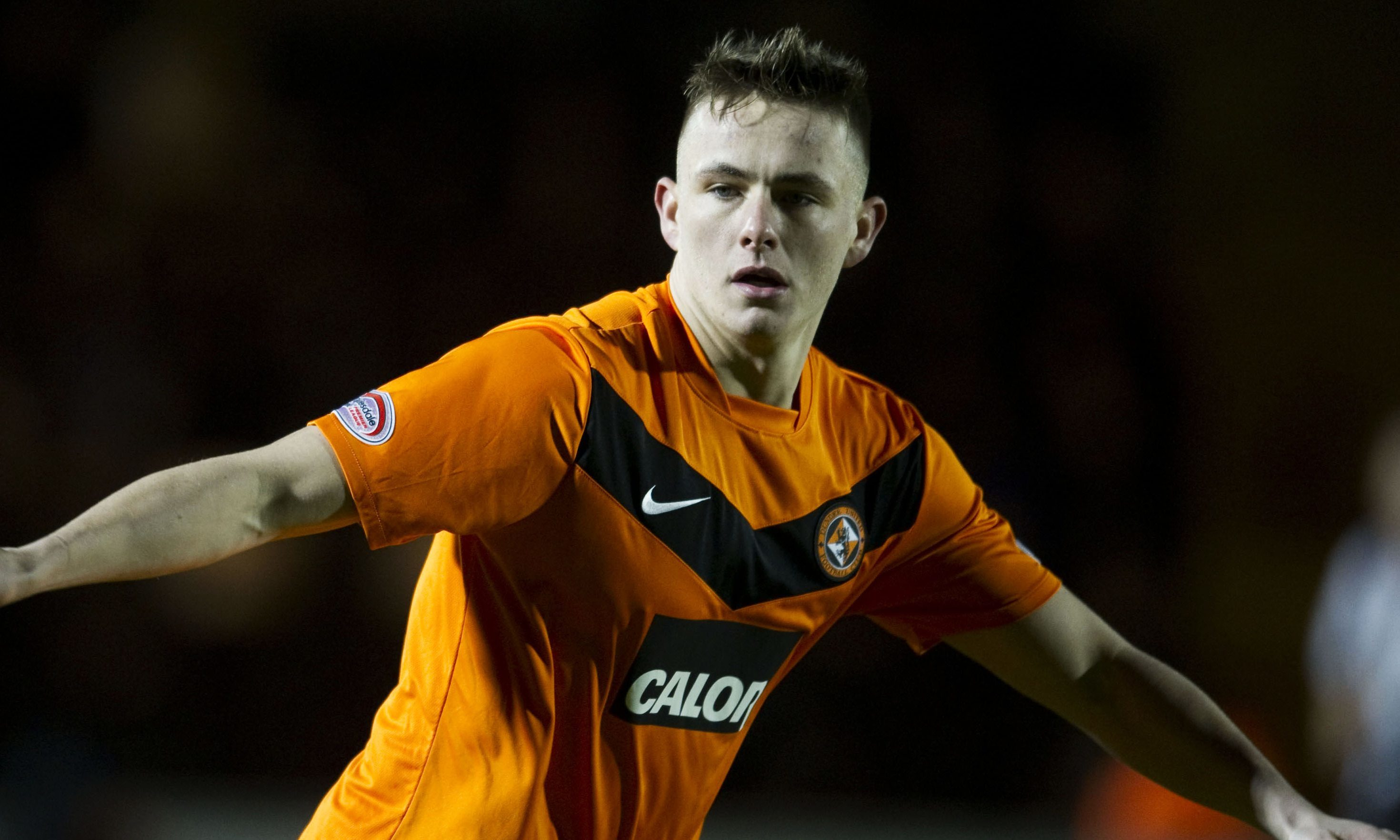 Scott Allan in his Dundee United days.
