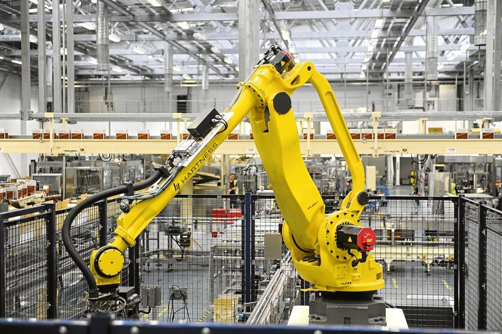A quarter of jobs in Dundee are at risk from automation and globalisation, according to Centre for Cities report.