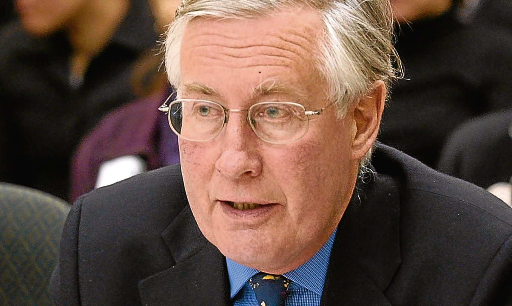 The late Michael Meacher who, for Jim, was the last good UK environment secretary.