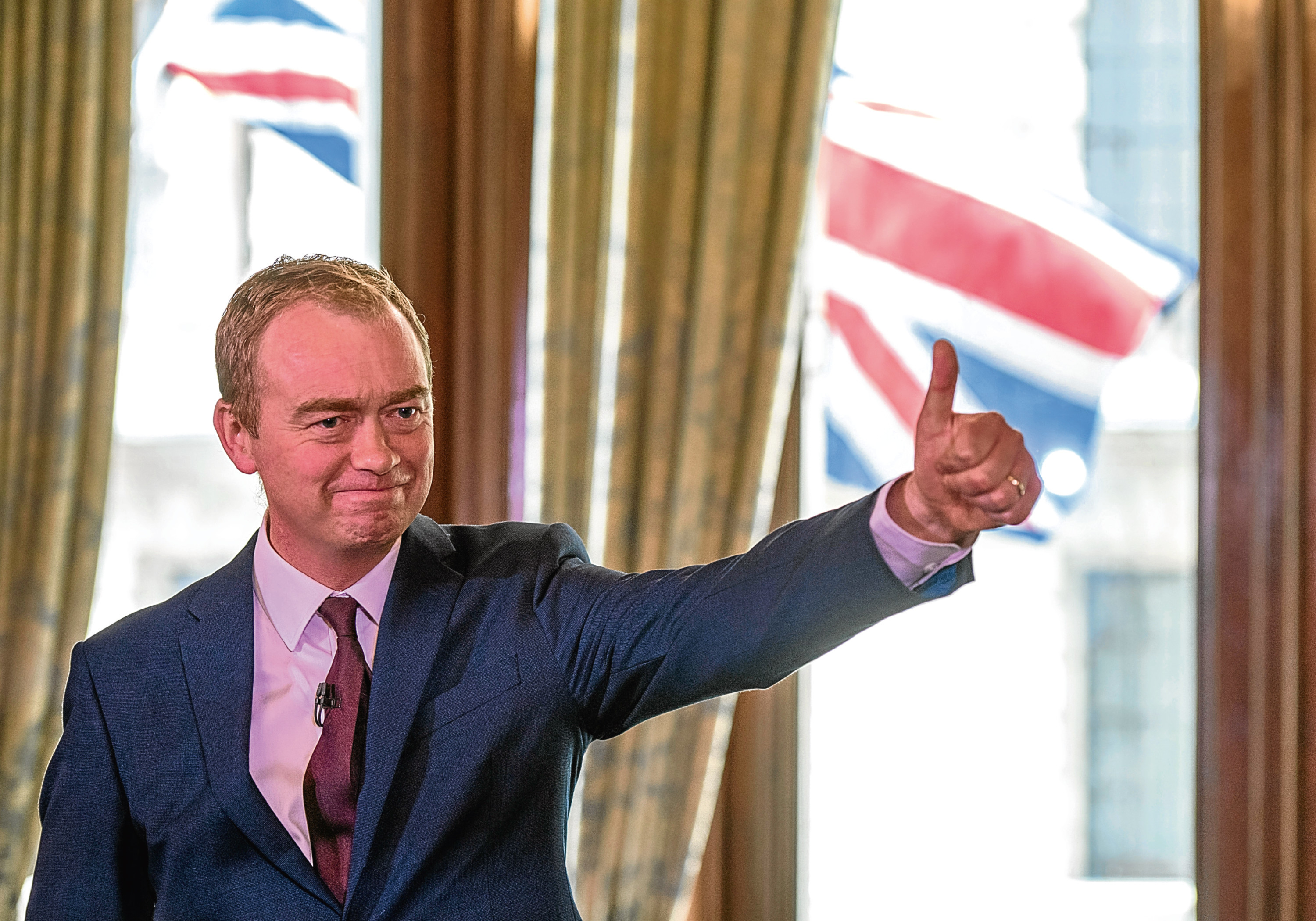 Liberal Democrat leader Tim Farron who announced his intention to stand down.
