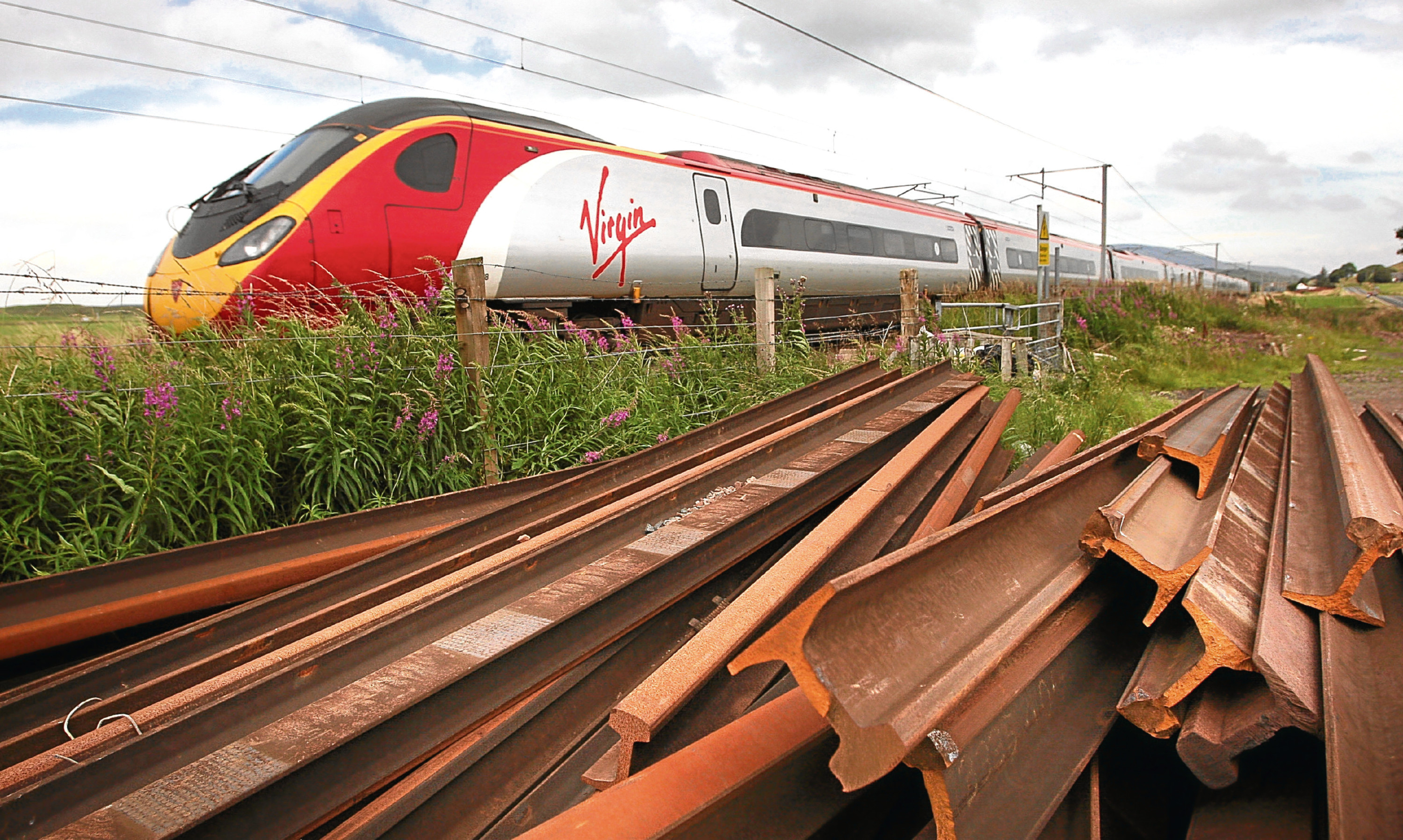 The West Coast rail frnachise is currently operated by a joint venture between Virgin Rail Group and Stagecoach