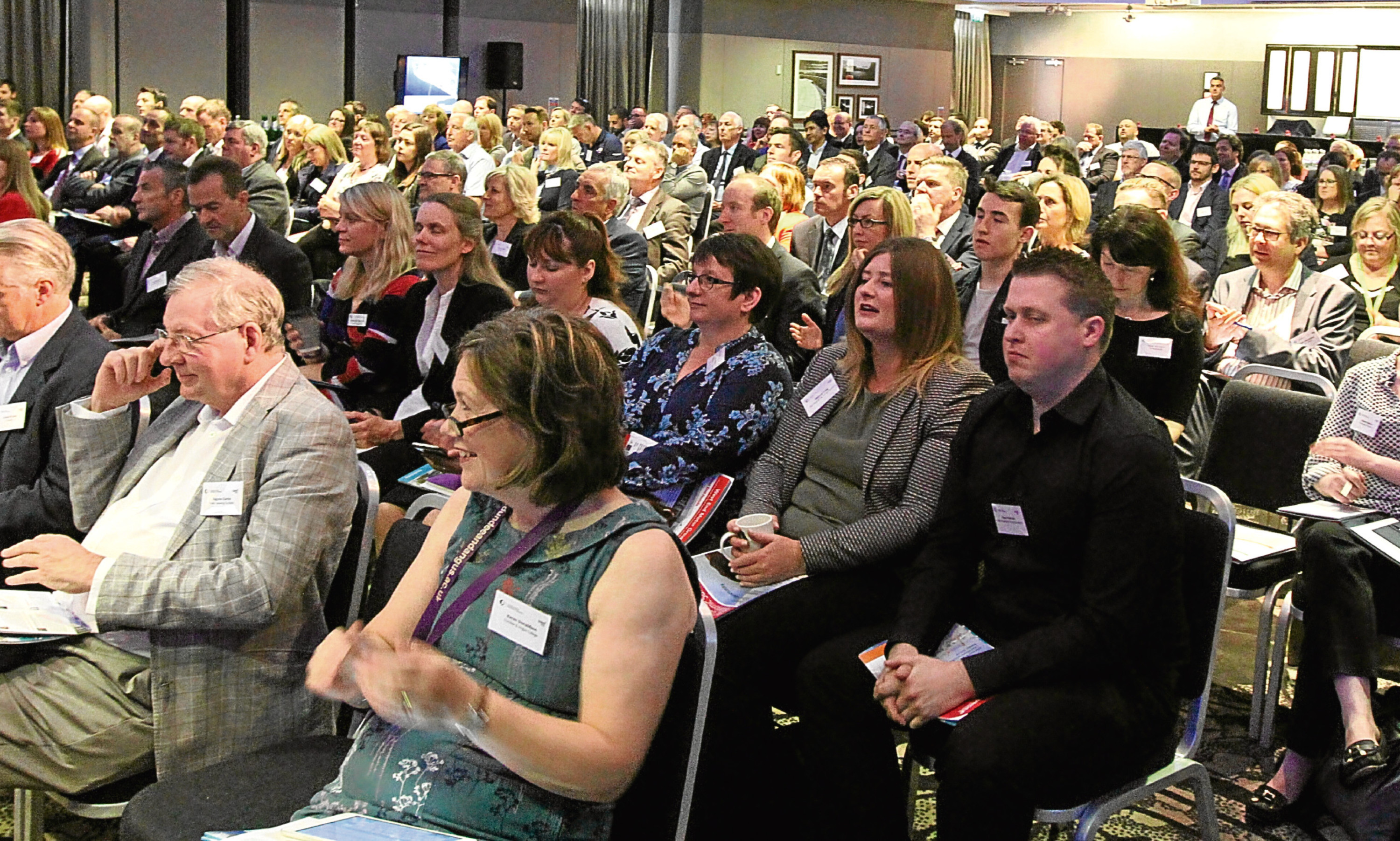Scores of local business leaders turned out for the Dundee Economic Summit