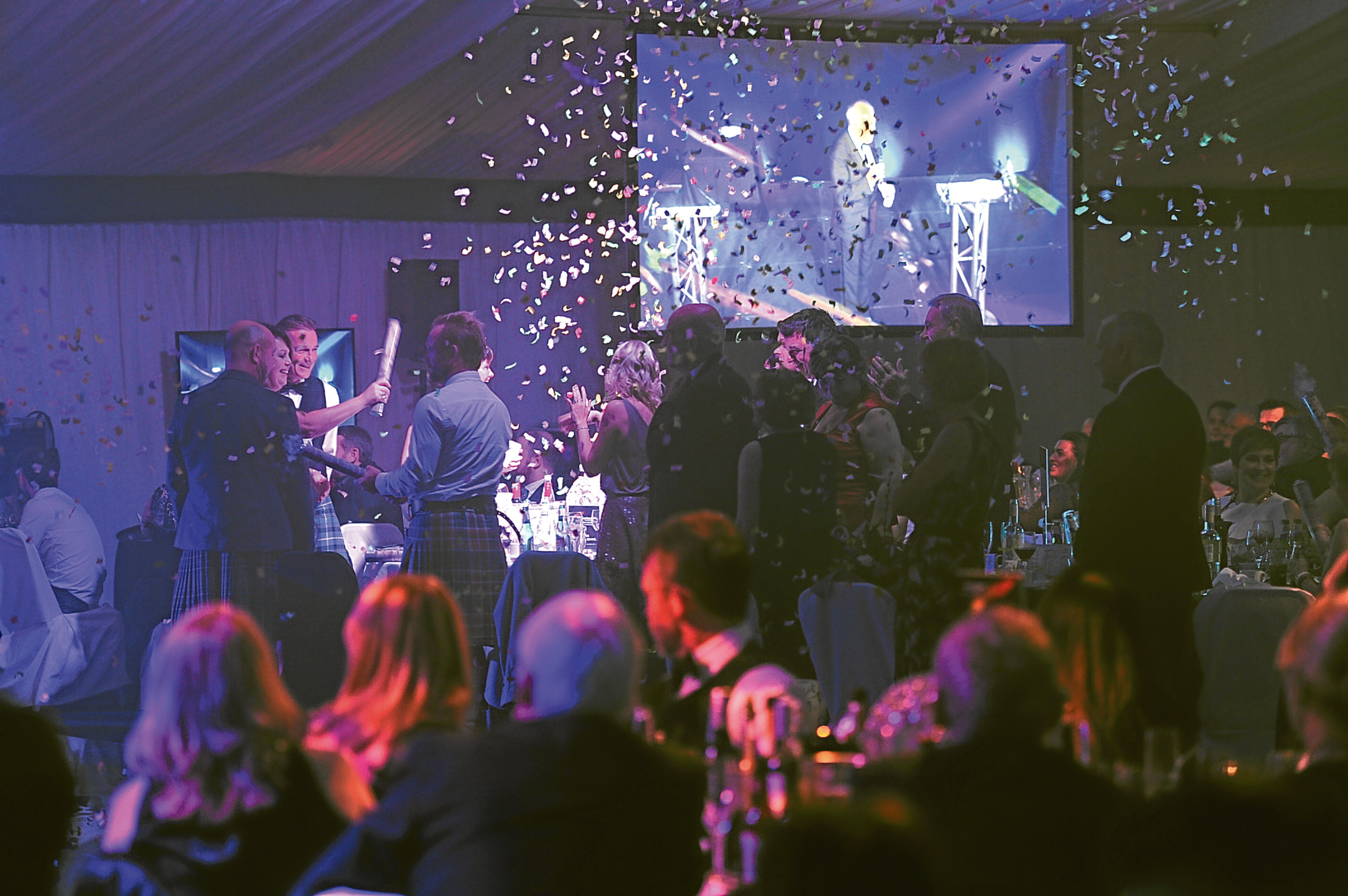 Celebrations at the 2016 Courier Business Awards