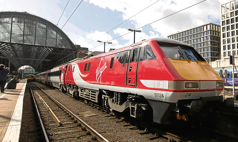 A Virgin East Coast train