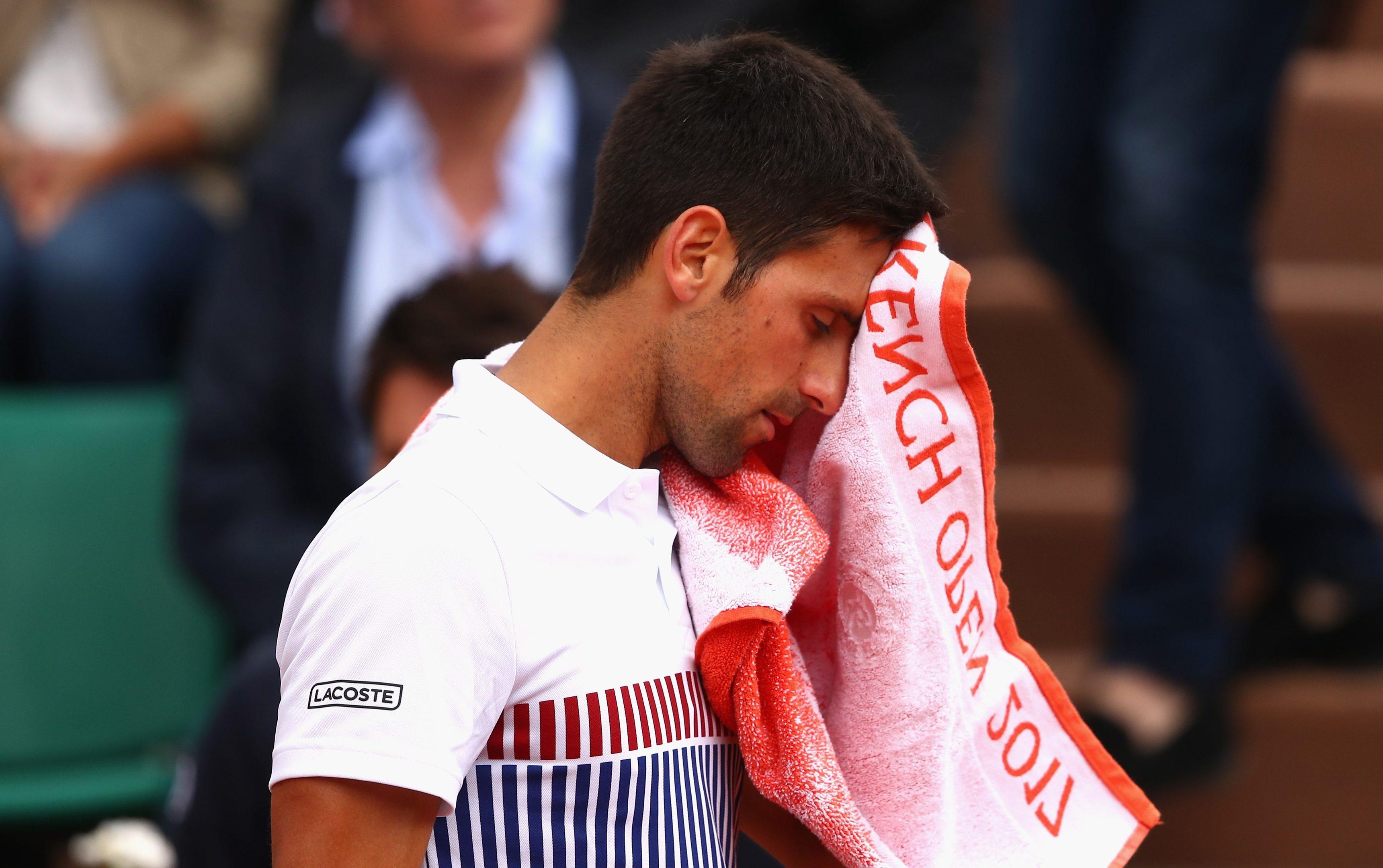It's been hard work for Novak Djokovic of late.