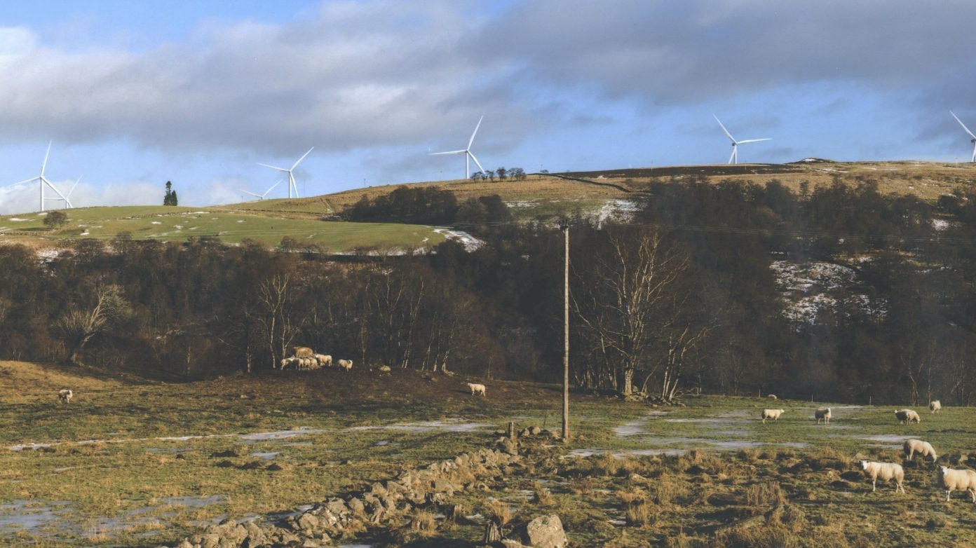 An artists impression of the Green Burn development.