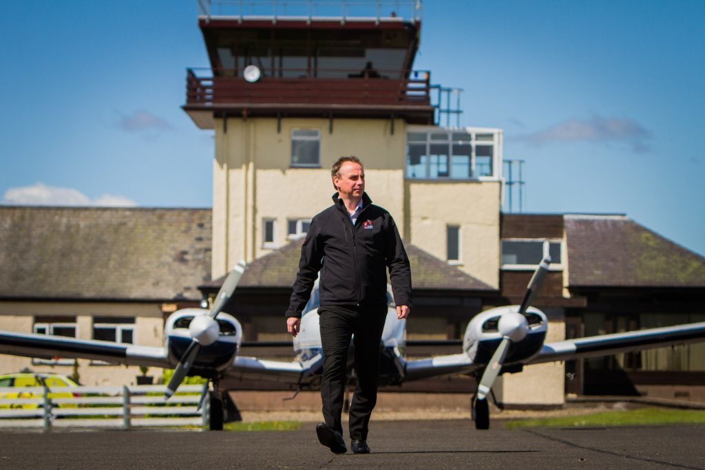 ACS Aviation managing director Graeme Frater