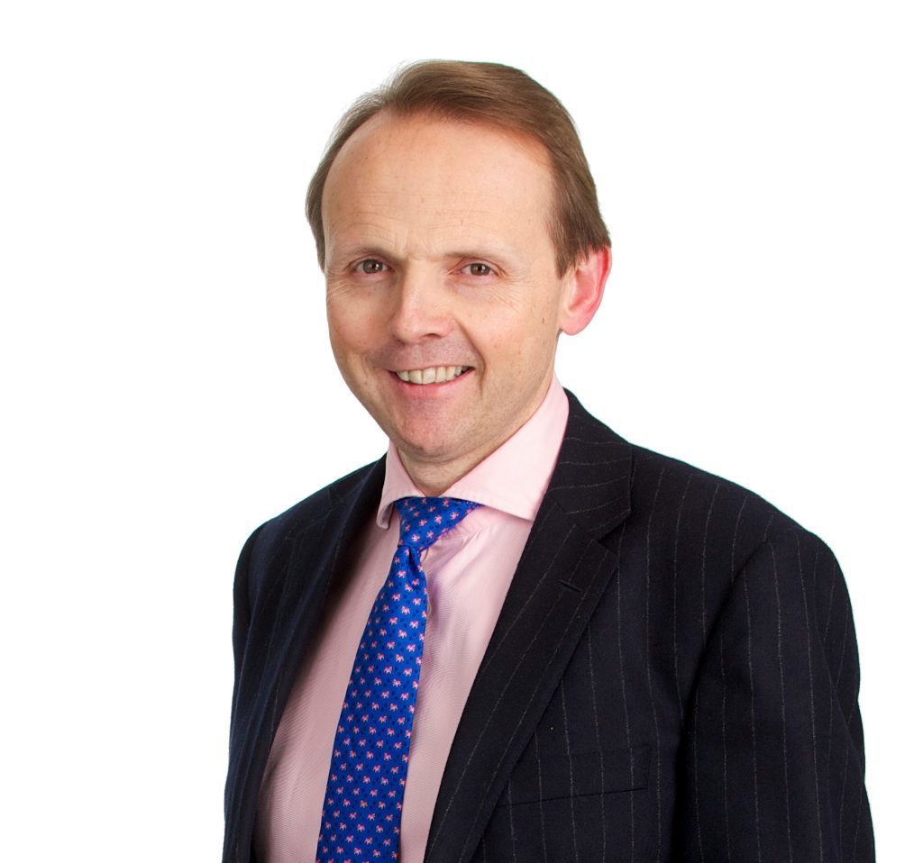 SSE chief executive Alistair Phillips-Davies